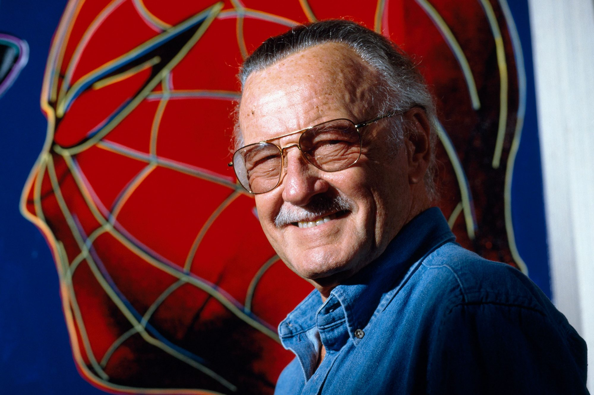 American comic book writer Stan Lee