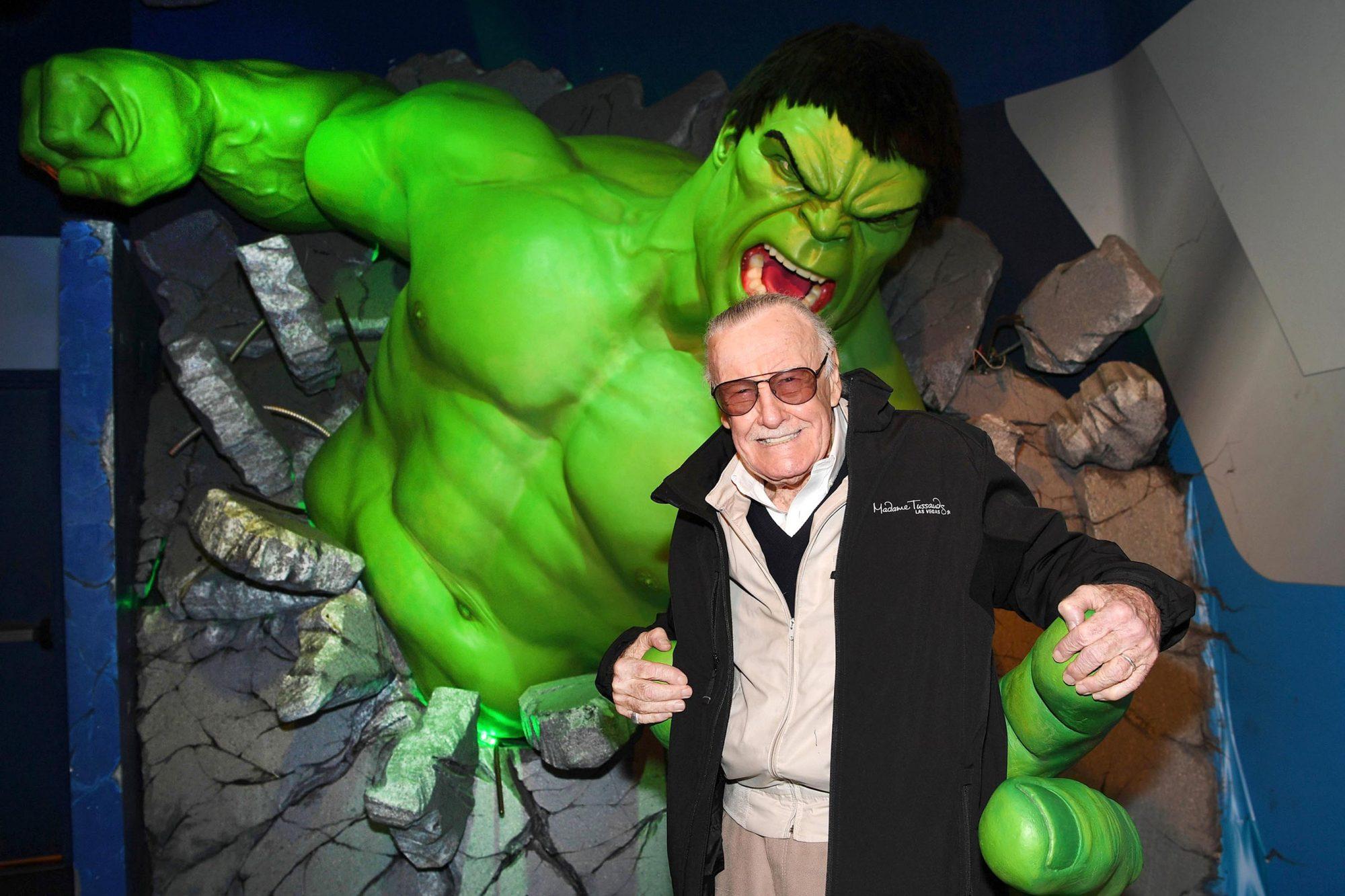 Madame Tussauds Las Vegas And Marvel Unveils Brand New Hulkbuster Figure With Iconic Marvel Mastermind, Stan Lee