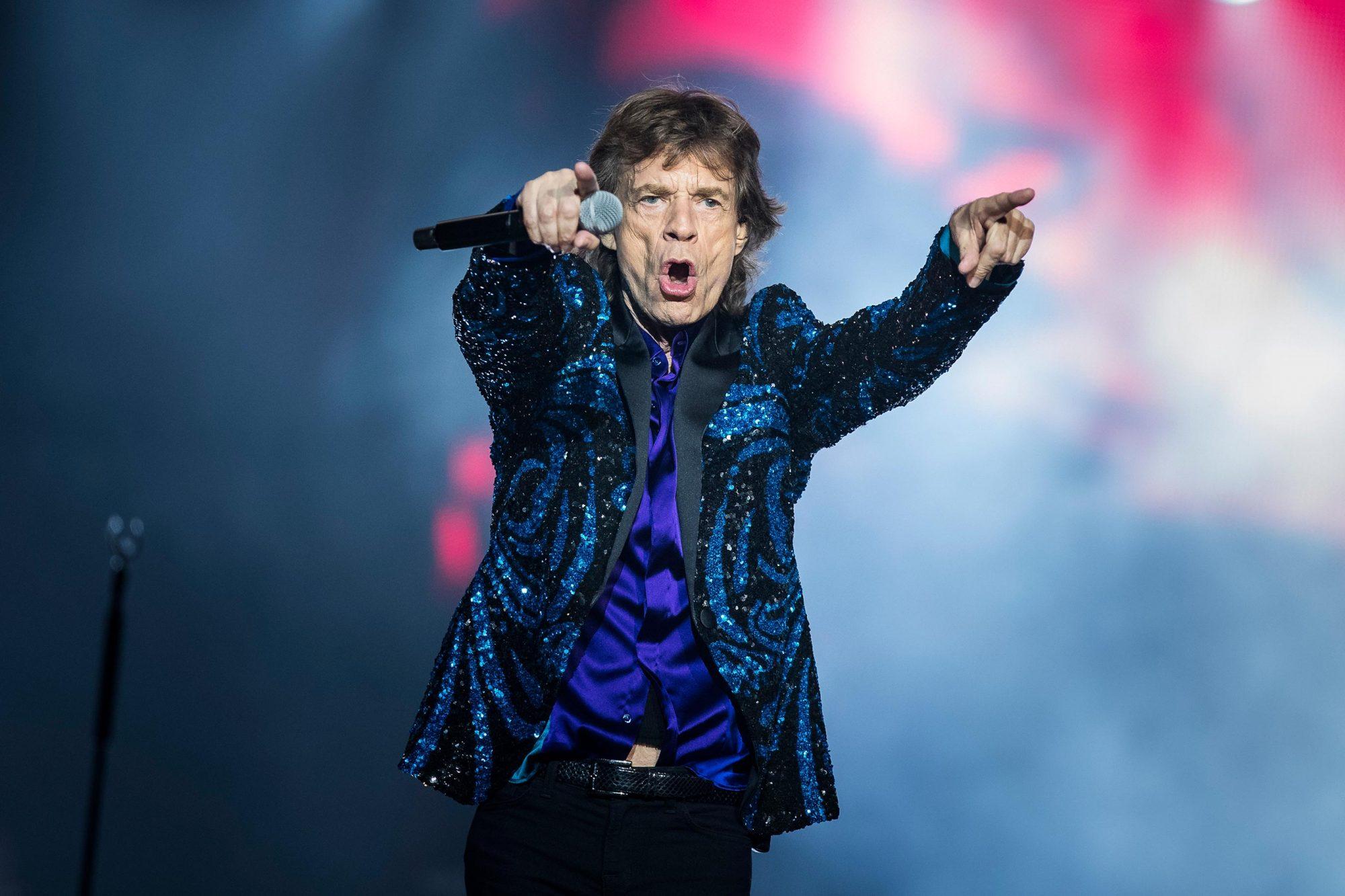 Rolling Stones Perform In Concert in Stockholm
