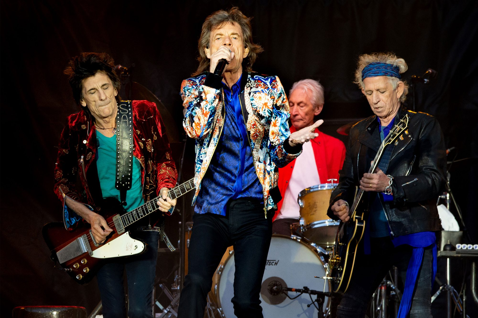 The Rolling Stones Perform At Old Trafford