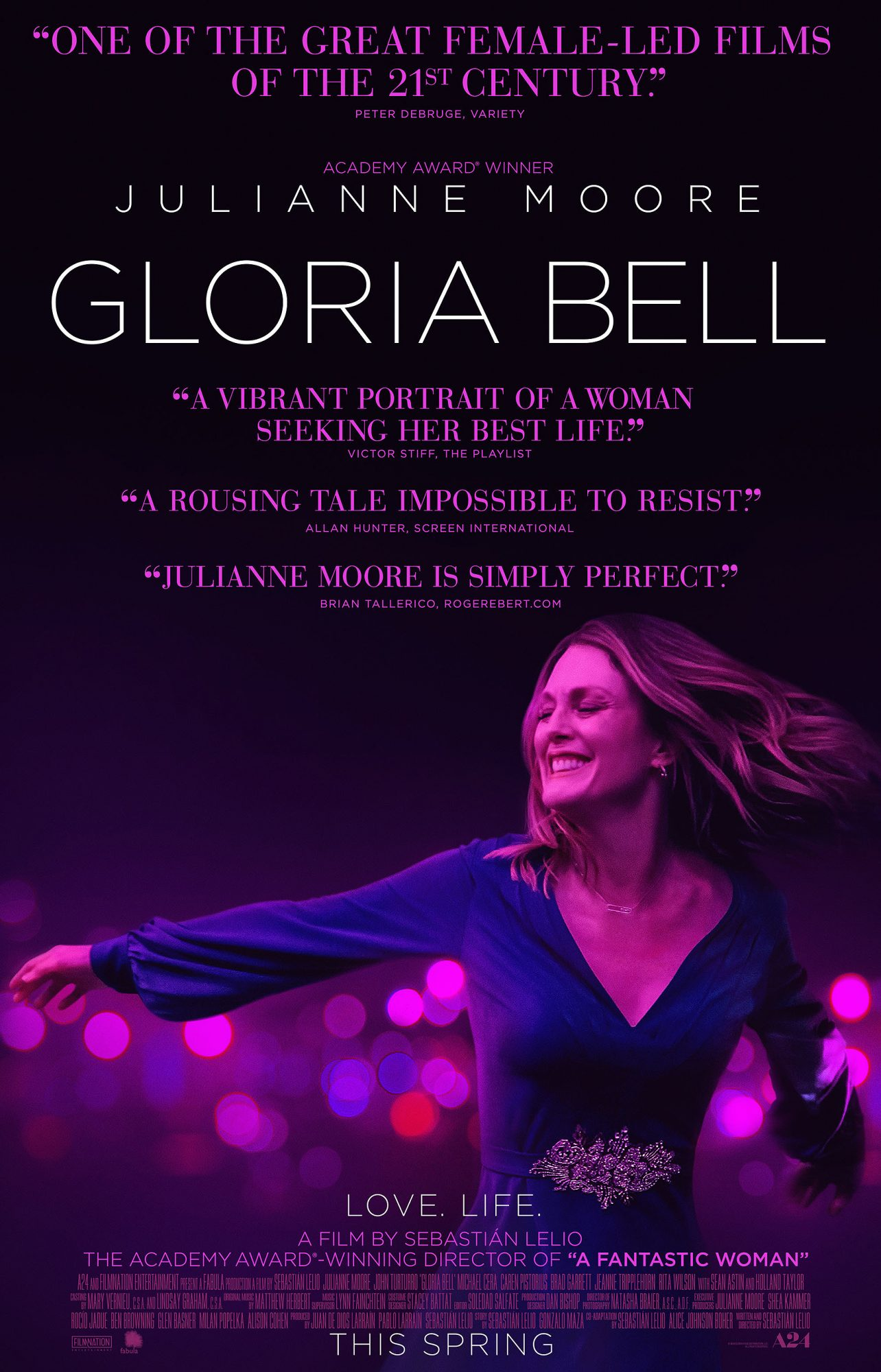 Gloria Bell Julianne MooreCredit: A24