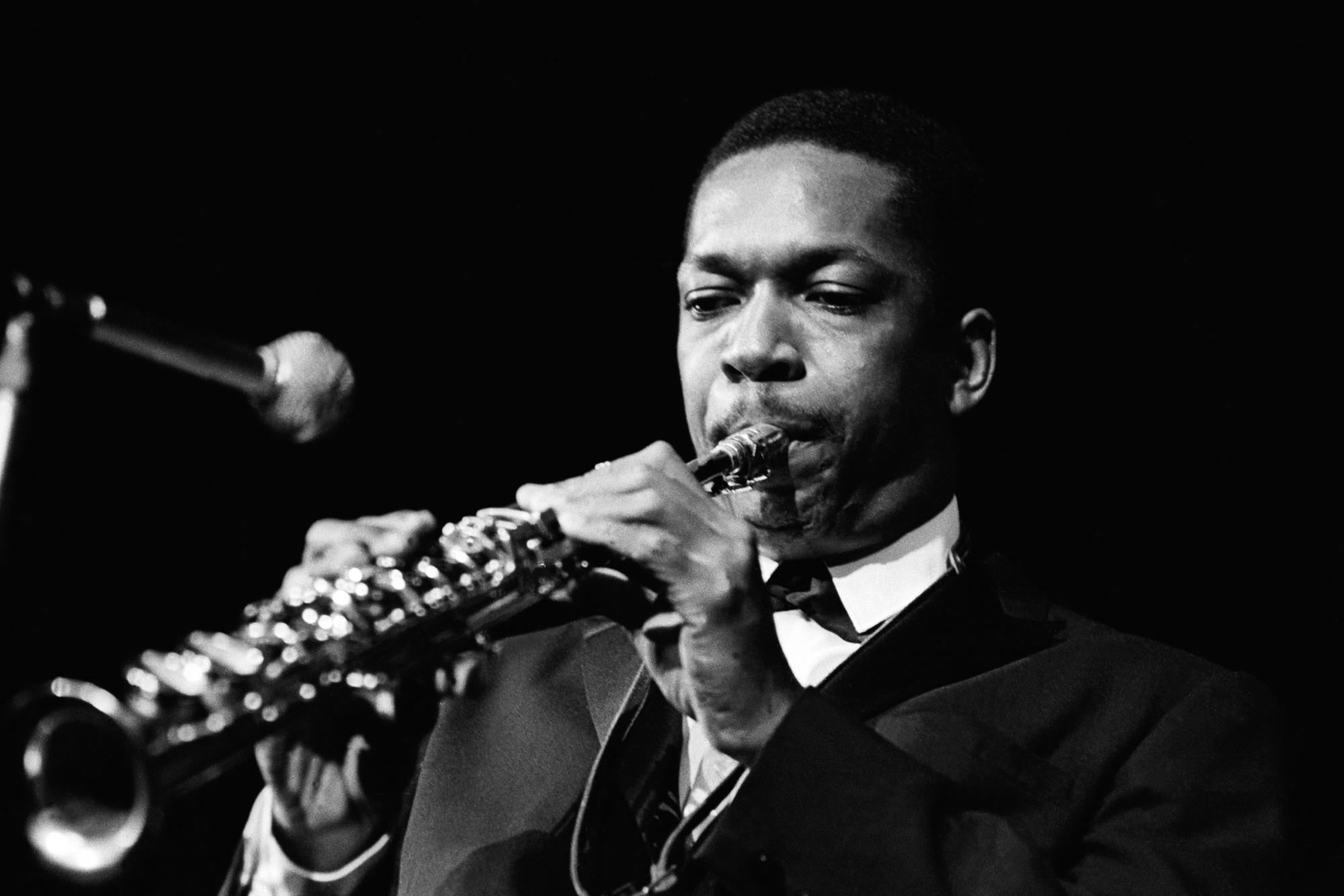 Photo of John Coltrane 1961 5