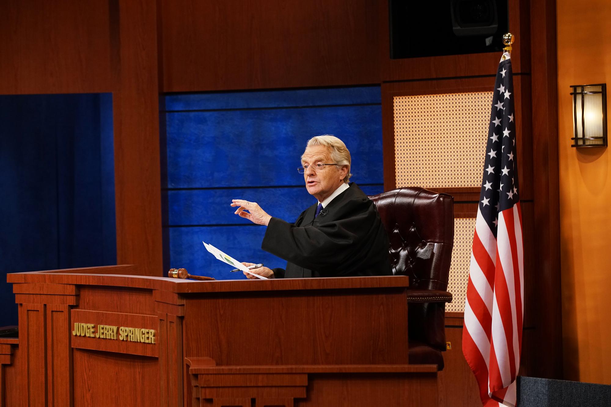 Judge Jerry SpringerCredit Bennett Raglin