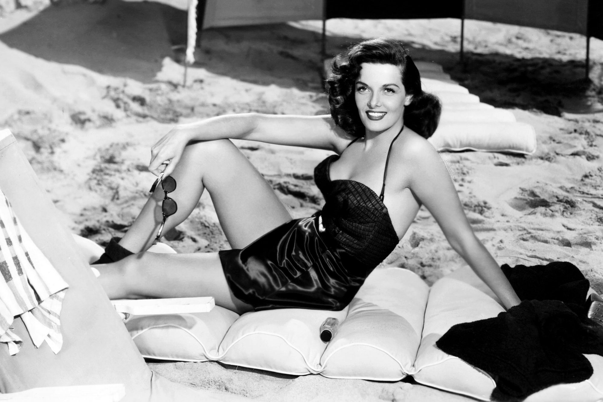 HIS KIND OF WOMAN, Jane Russell, 1951