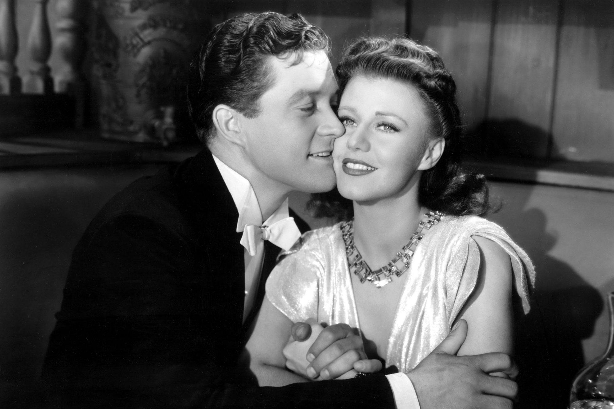 KITTY FOYLE, Dennis Morgan, Ginger Rogers, 1940