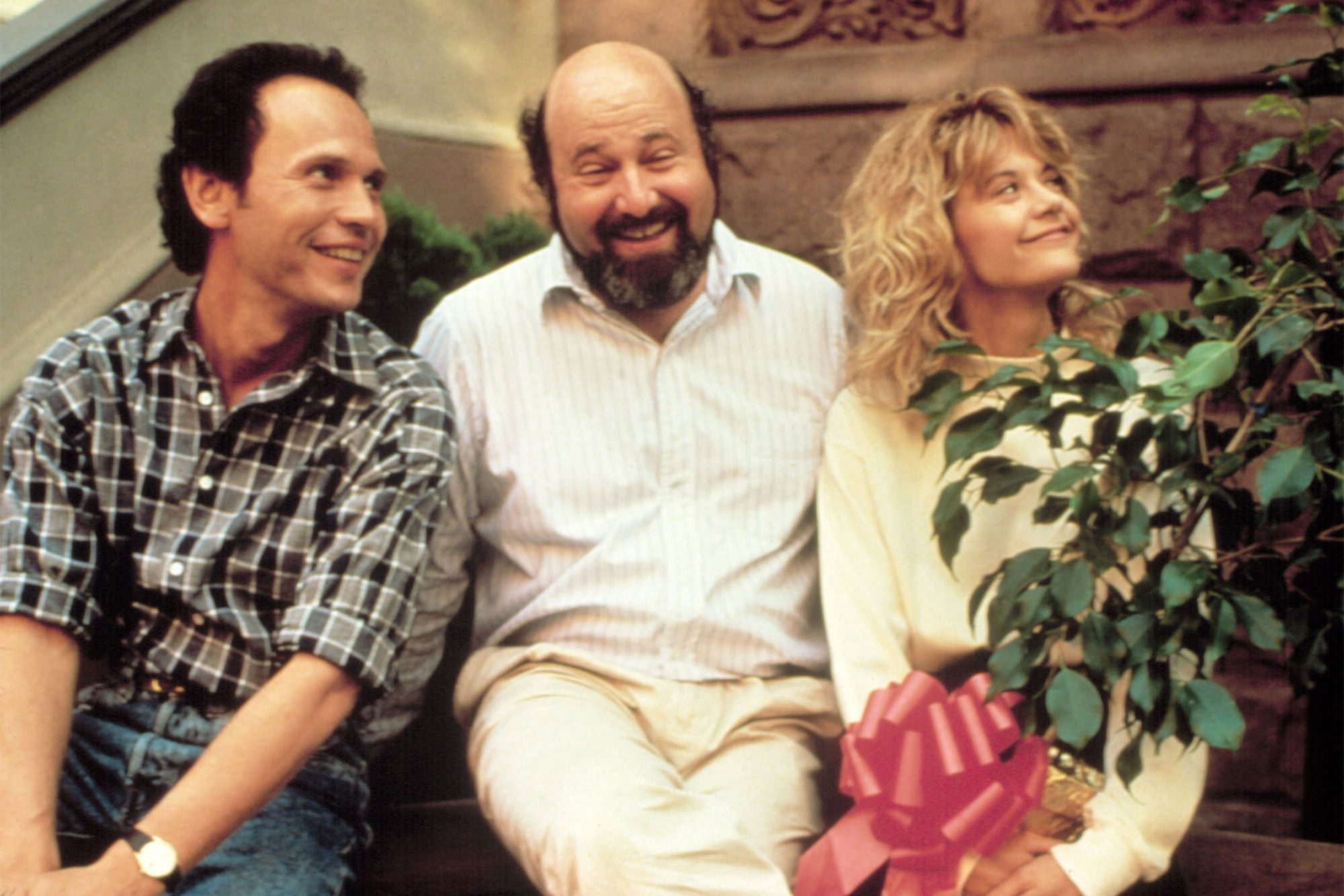 WHEN HARRY MET SALLY..., Billy Crystal, Director Rob Reiner, Meg Ryan, 1989. (c) Columbia Pictures/