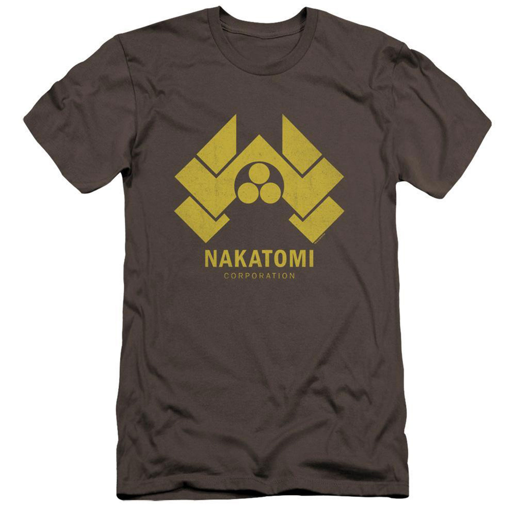 Die Hard giftsNakatomi Corp Brown Tee (Available at Shop.FoxMovies)