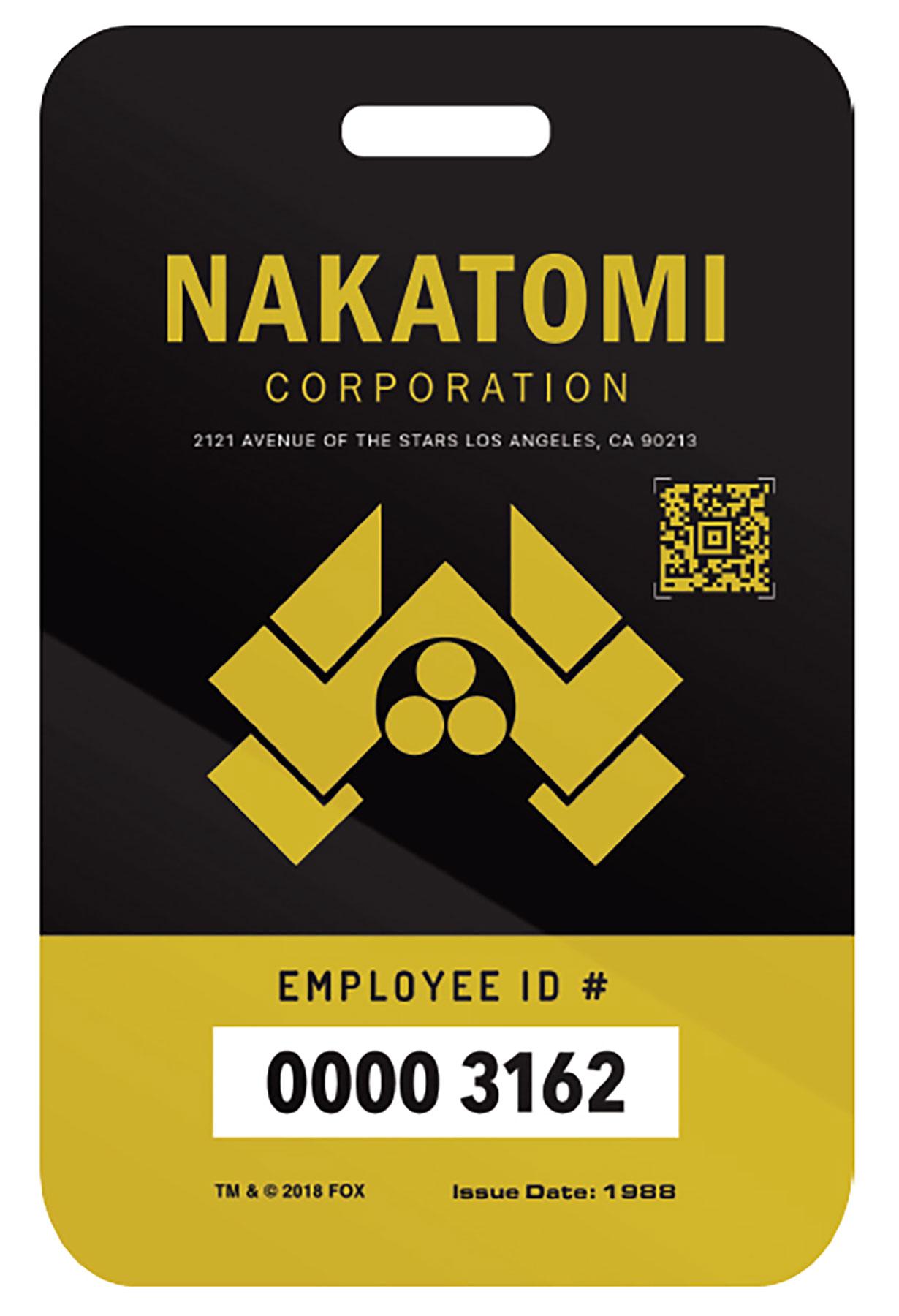 Nakatomi-Plaza-Employee-Badge--(Gift-with-Purchase-on-Shop.FoxMovies.com)