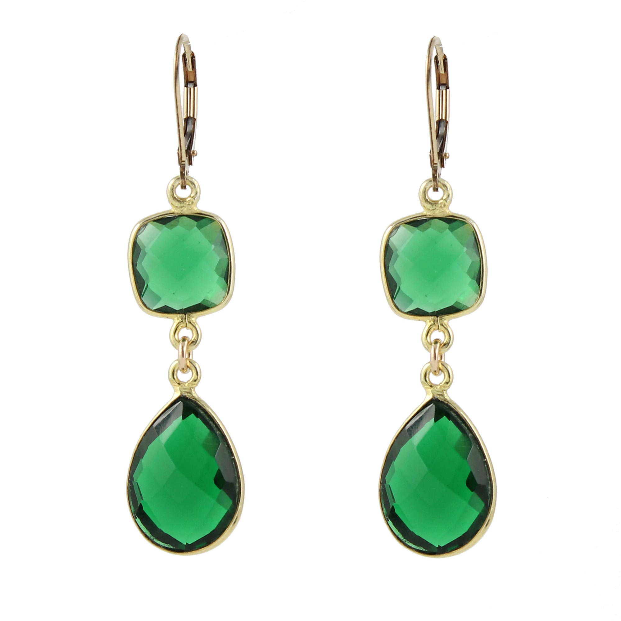 Peggy Li green earrings (photo attached; credit Peggy Li Creations)