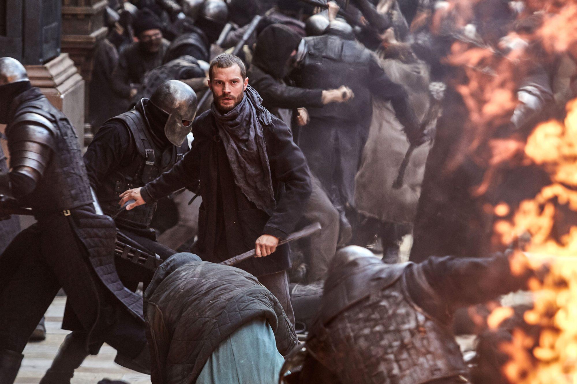 "Jamie Dornan as ""Will"" in ROBIN HOOD. Photo Credit: Attila Szvacsek."