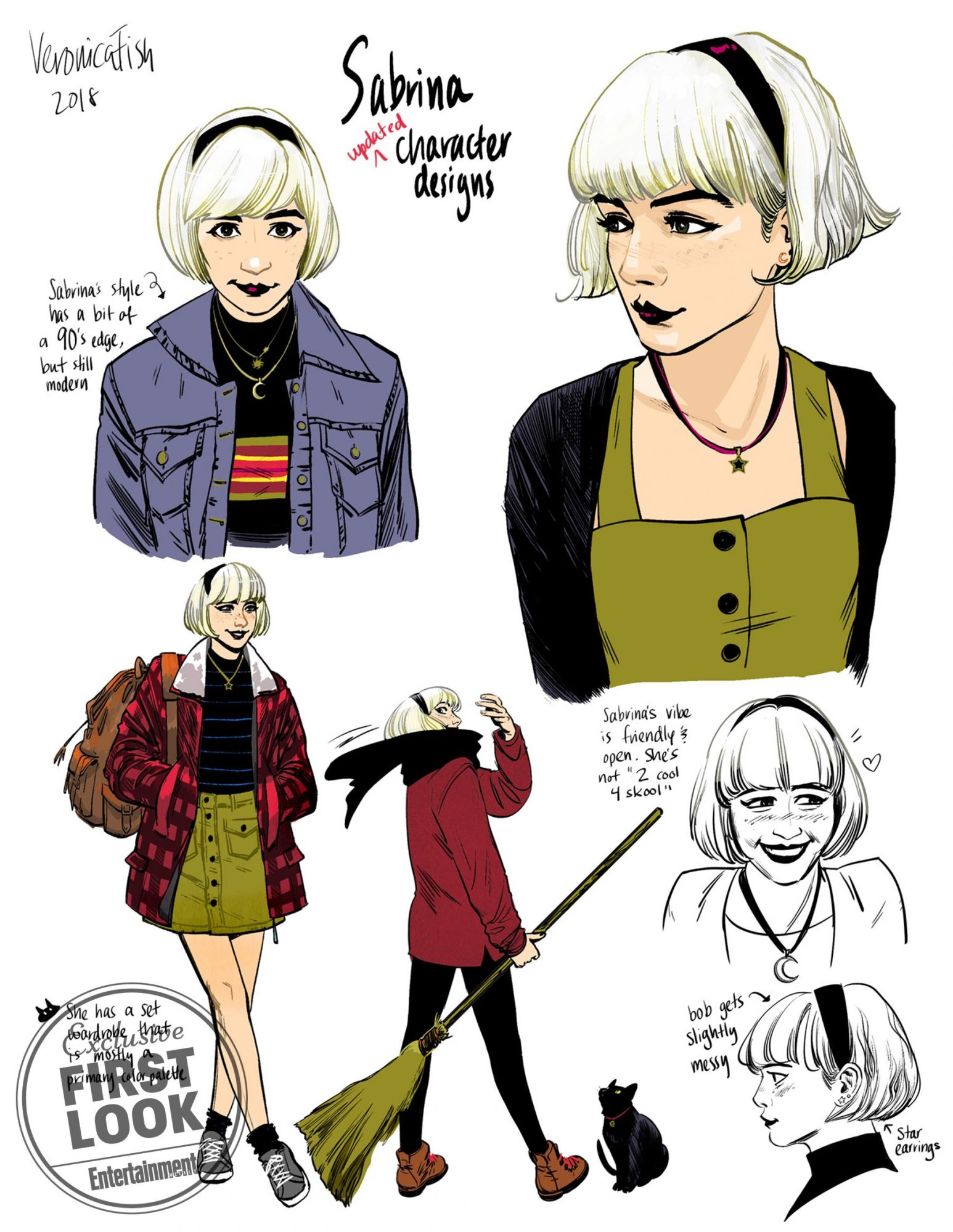 Sabrina The Teenage Witch Gets New Non Chilling Comic Series Ew Com