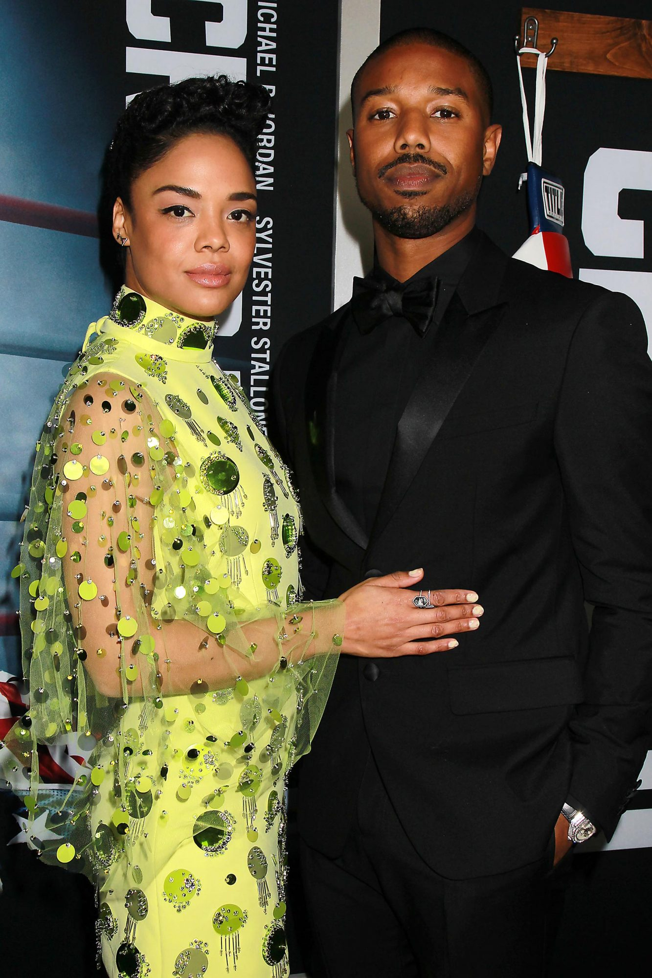 World Premiere of CREED II, New York, USA - 14 Nov 2018