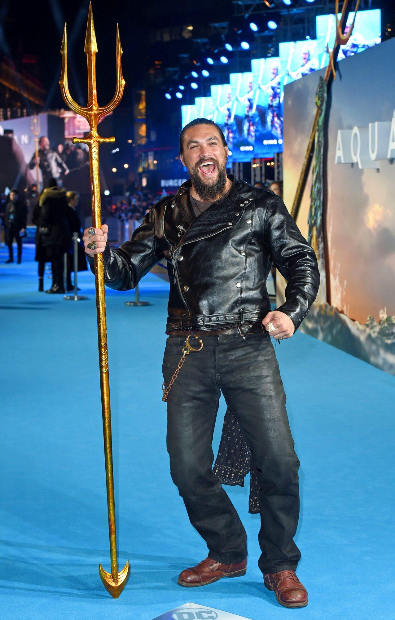 'Aquaman' film premiere, London, UK - 26 Nov 2018