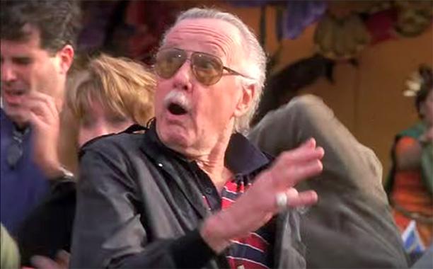 Startled Bystander at Fair in Spider-Man (2002)