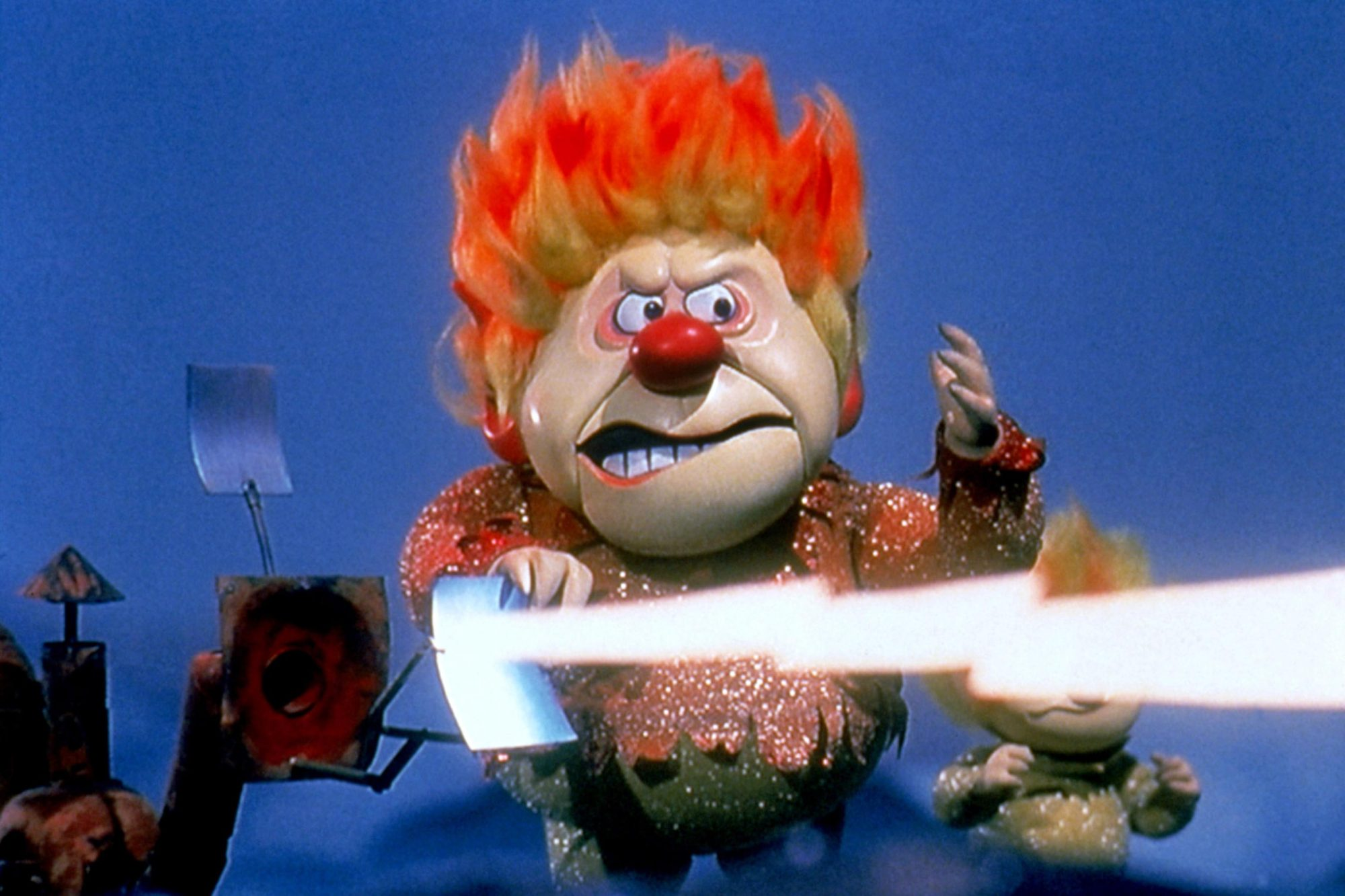THE YEAR WITHOUT A SANTA CLAUS, Heat Miser, 1974.