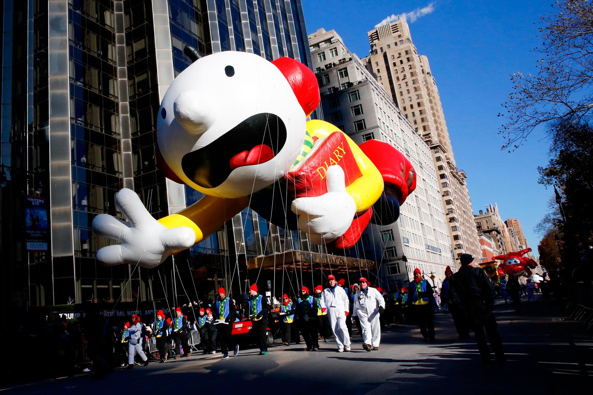 Thanksgiving Parade, New York, USA - 22 Nov 2018