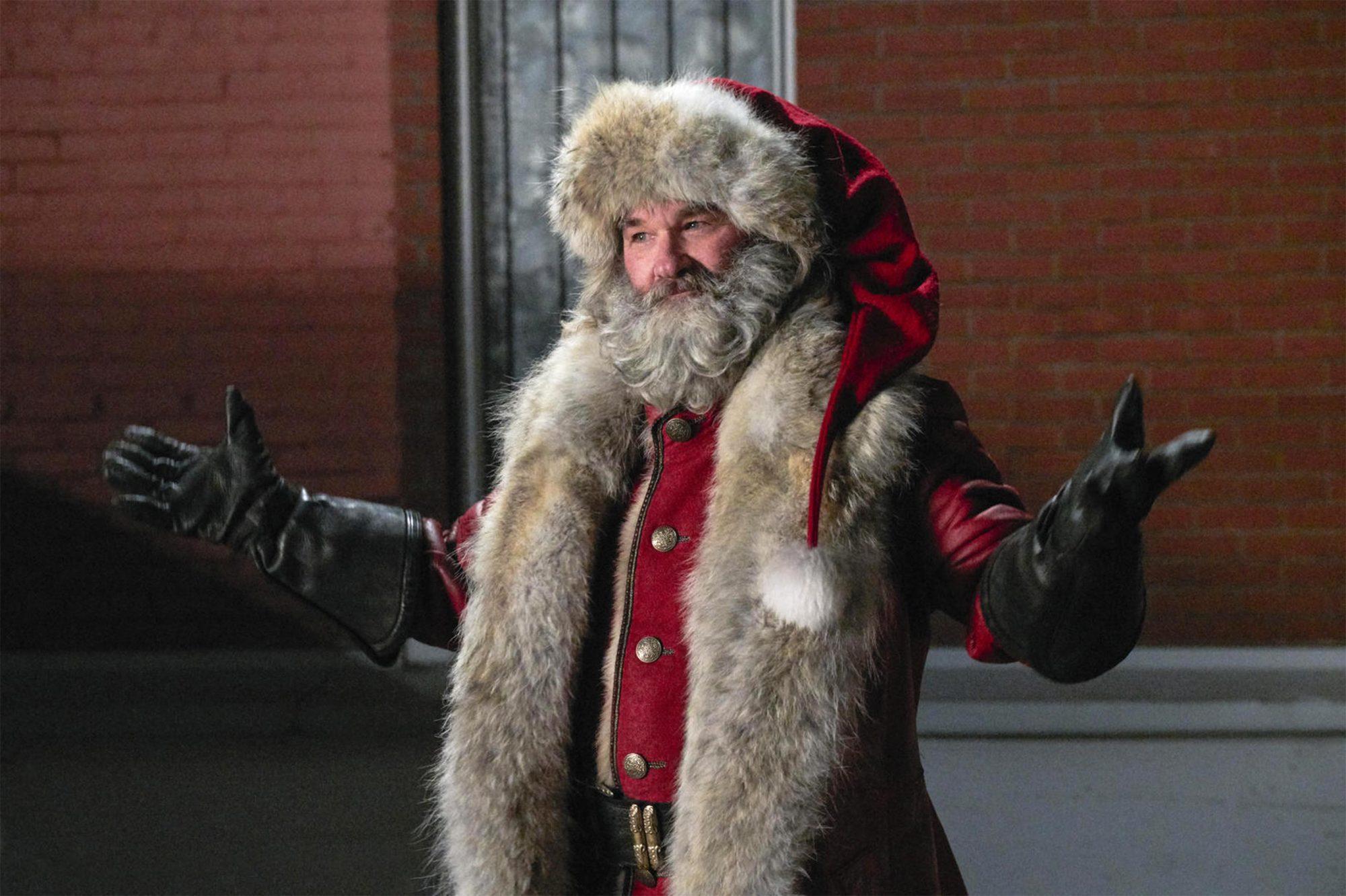 The Christmas ChroniclesKurt Russell as a wisecracking Santa Claus CR: Netflix