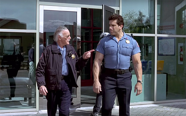 Security Guard in Hulk (2003)