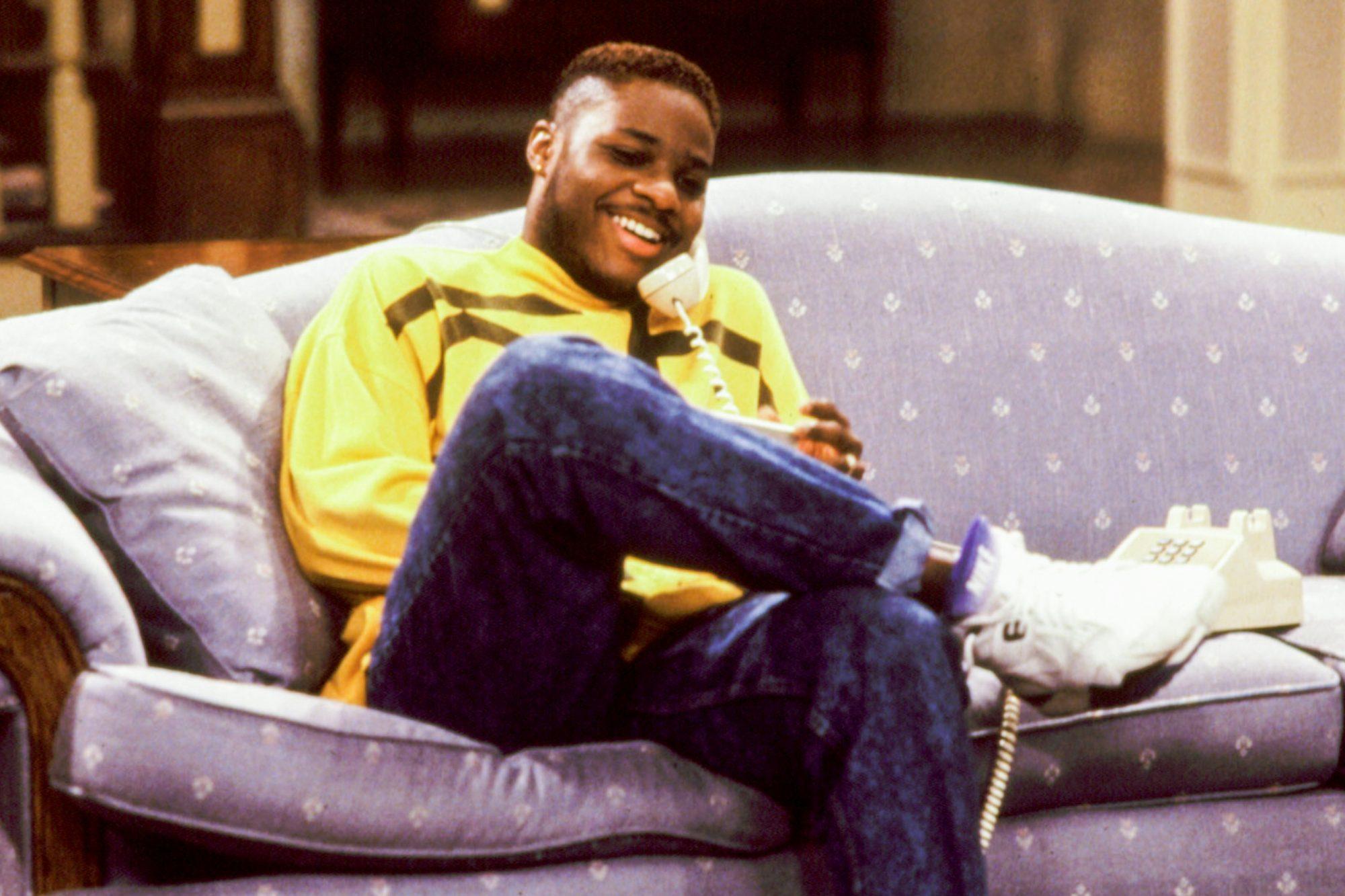 COSBY SHOW, Malcolm-Jamal Warner, 1984-1992, telephone