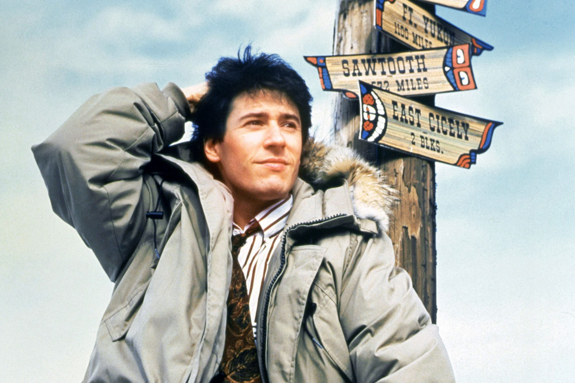 NORTHERN EXPOSURE, Rob Morrow, 1990-95. © Universal Television / Courtesy: Everett Collection