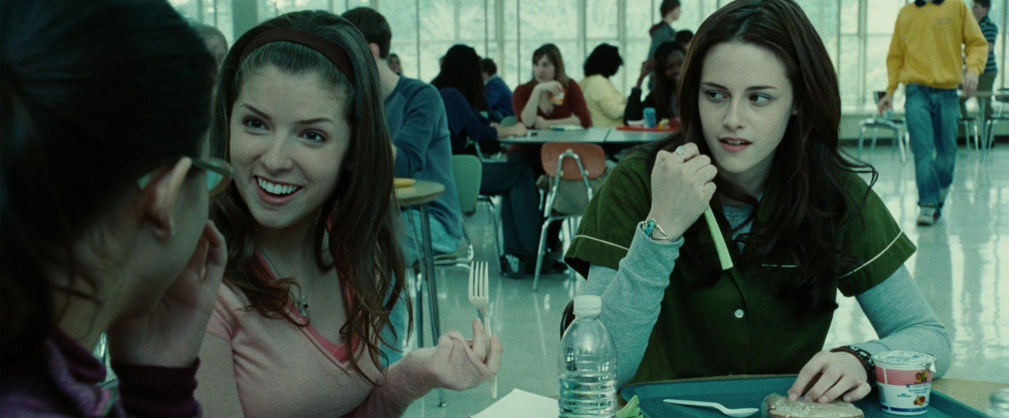 Twilight (2008) (screen grab)Anna Kendrick and Kristen StewartCR: Summit