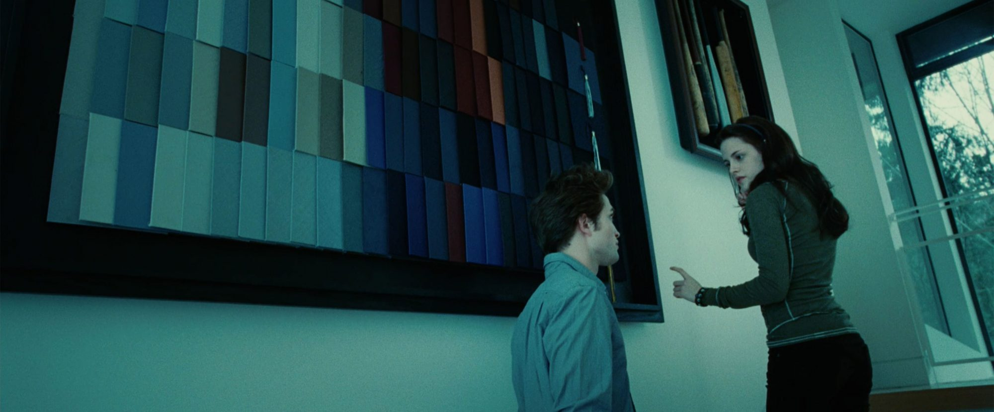 Twilight (2008) (screen grab)Kristen Stewart and Robert PattinsonCR: Summit