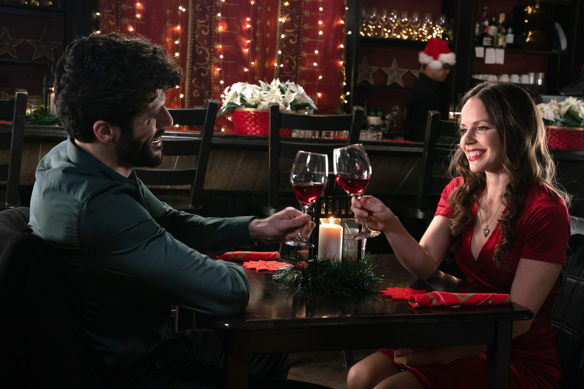 Chrismas Catch UPTV Christmas moviesCredit: UPTV