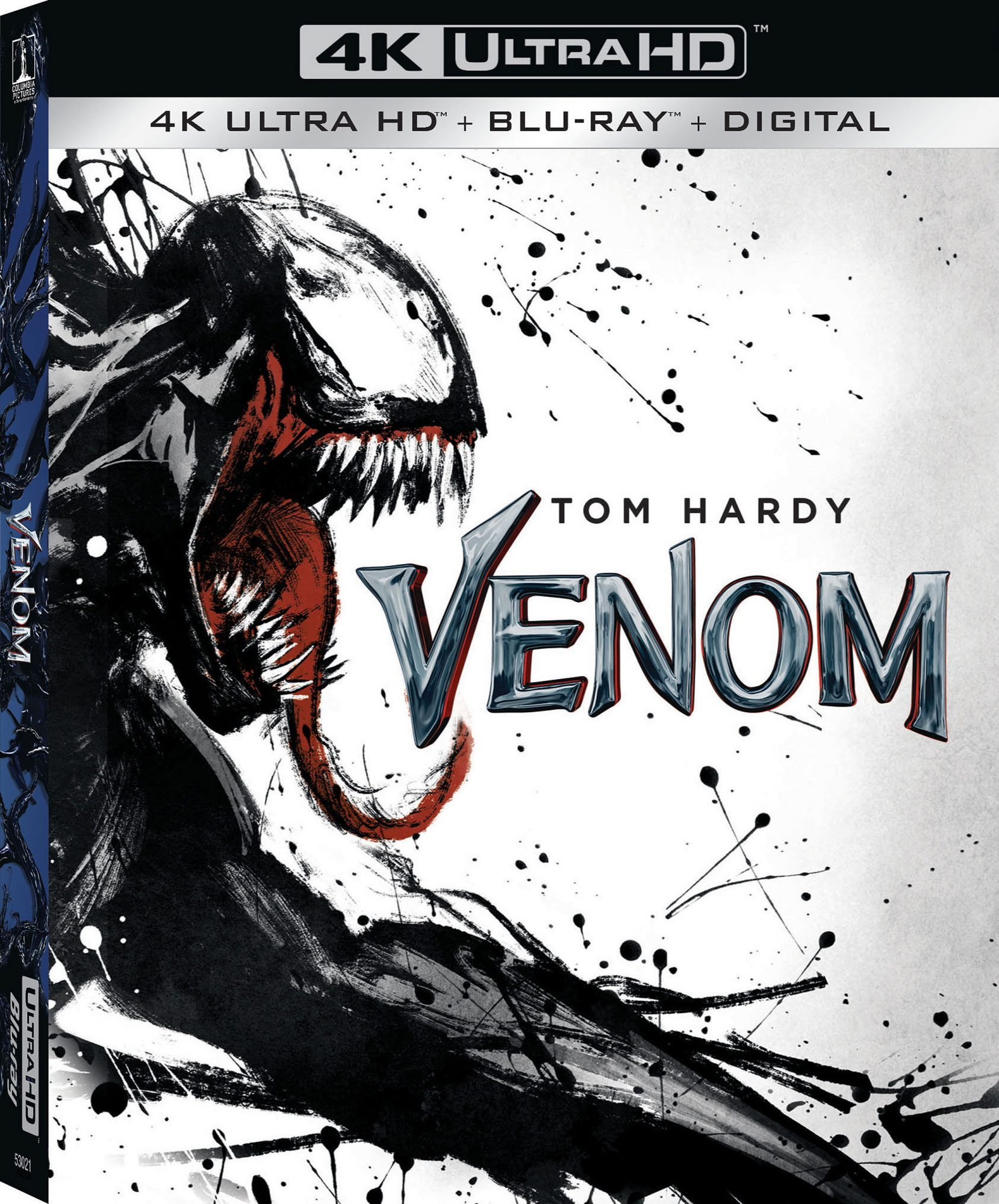 Venom Blu-ray box artworkCredit: Sony Pictures Home Entertainment