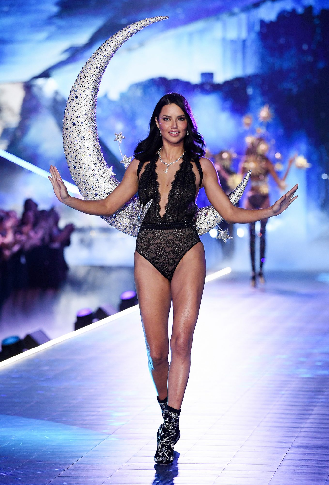 Adriana Lima on the catwalk