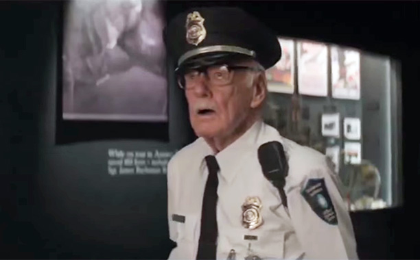 Smithsonian Security Guard in Captain America: The Winter Soldier (2014)