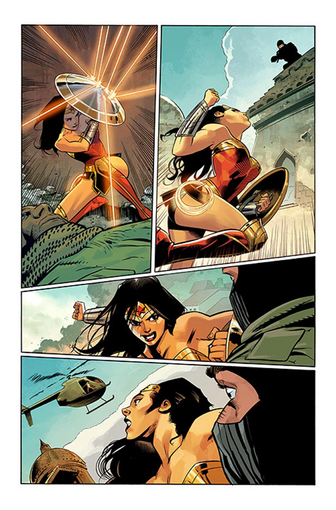 Wonder Woman 58 Comic by G. Willow WilsonCredit: DC Comics