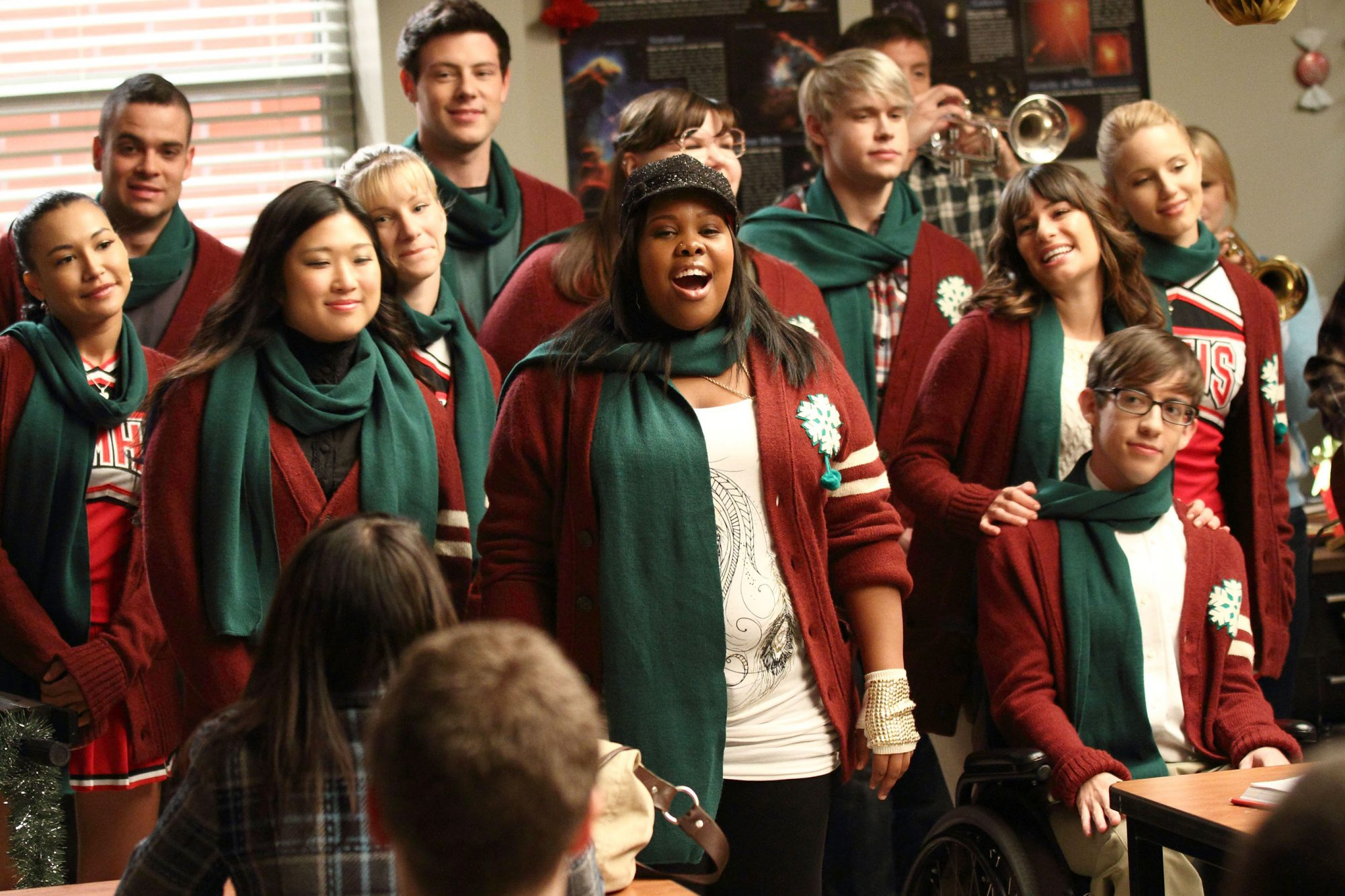 Glee,  A Very Glee Christmas  (season 2, episode 10)
