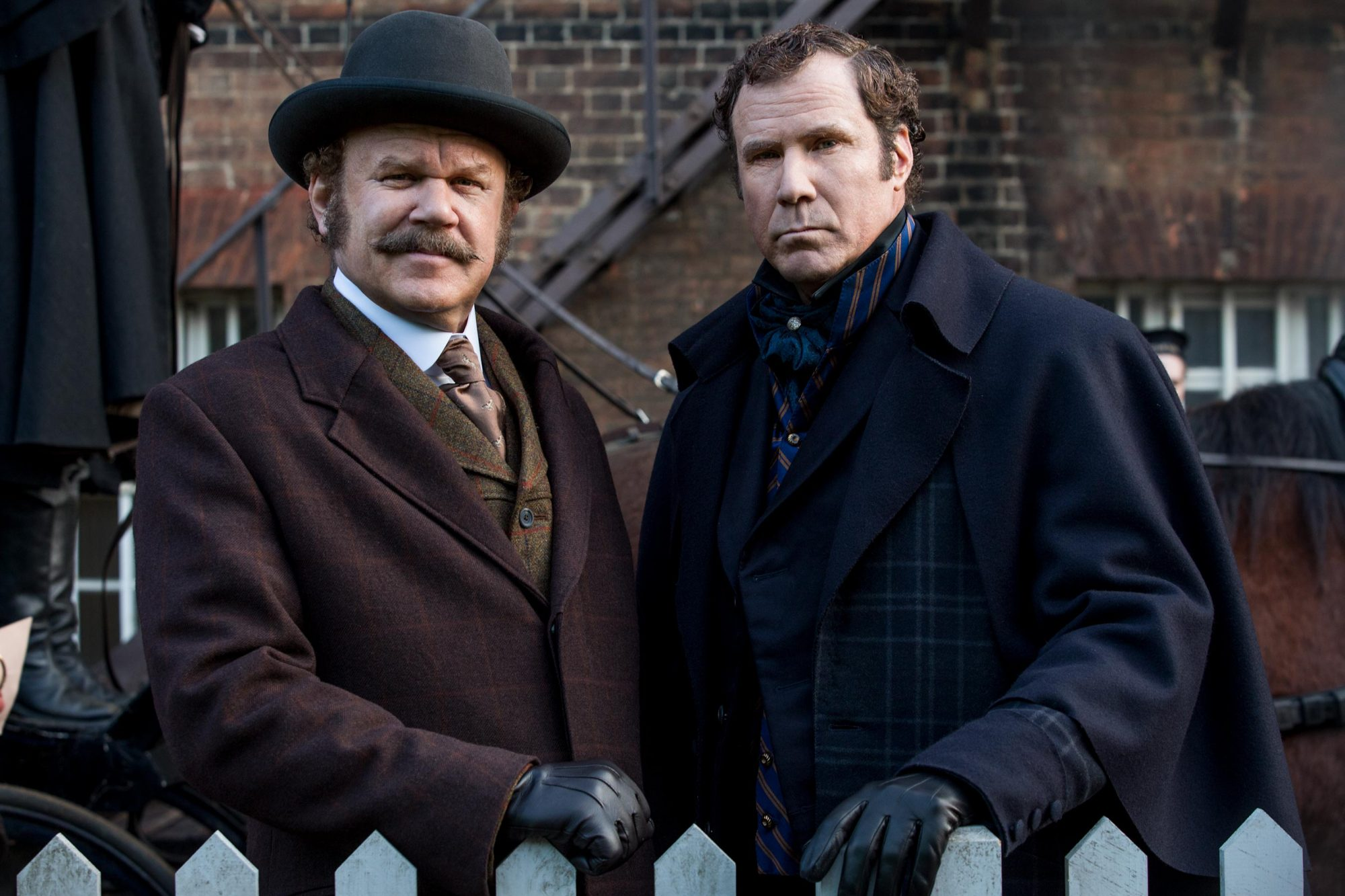 17. Will Ferrell and John C. Reilly in Holmes & Watson (2018)