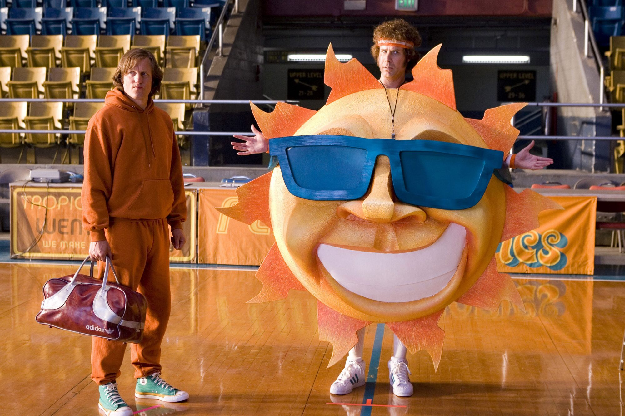15. Will Ferrell and Woody Harrelson in Semi-Pro (2008)