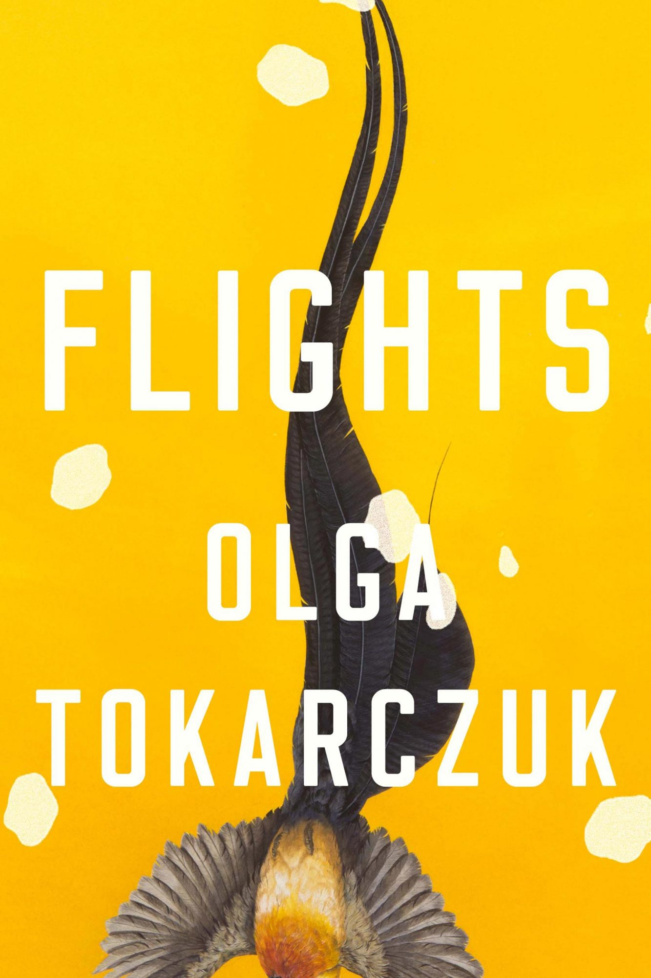 Flights by Olga Tokarczuk CR: Penguin