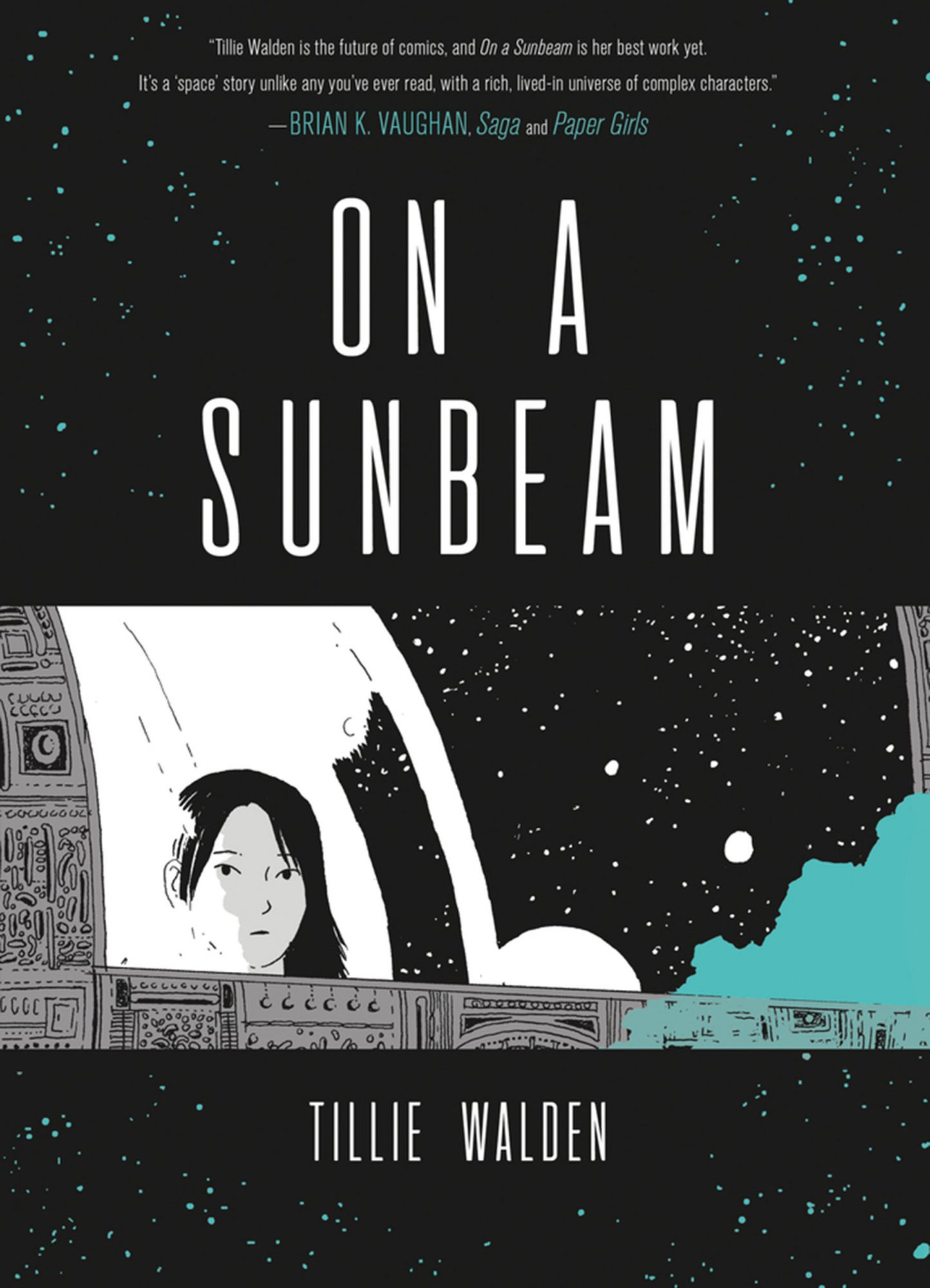 On a Sunbeam by Tillie WaldenCR: First Second