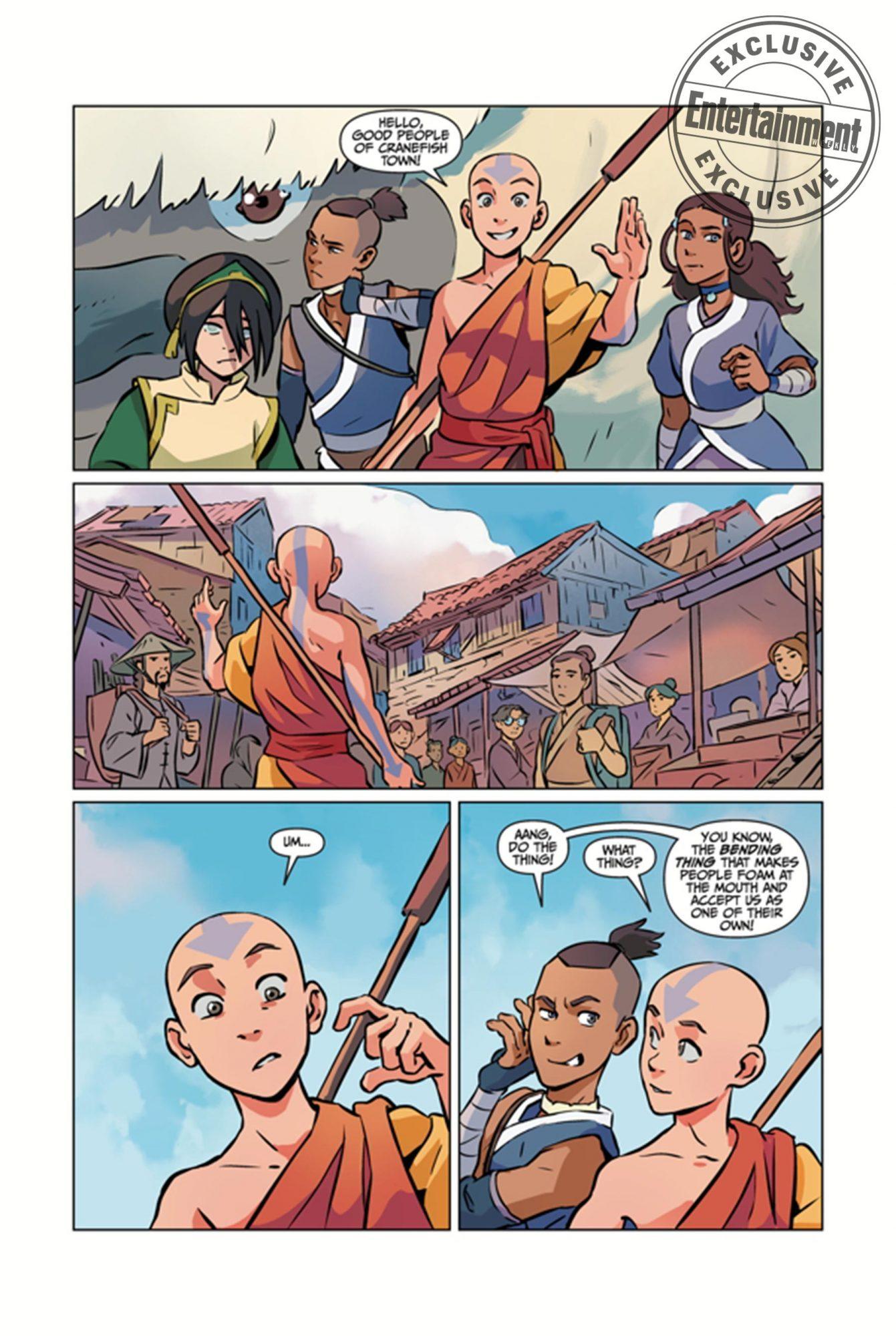 Avatar: The Last AirbenderCR: Dark Horse