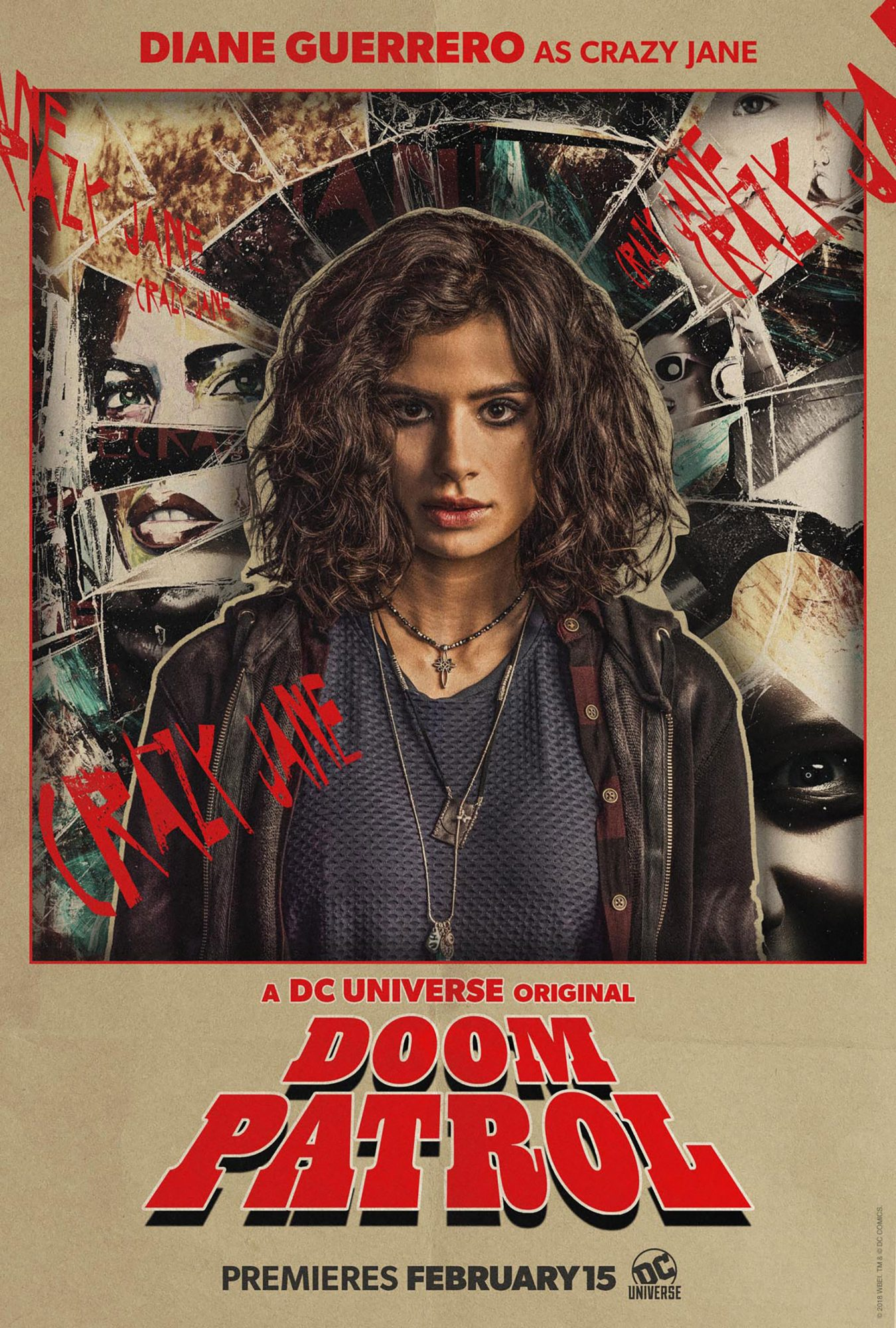 Doom Patrol postersCR: DC Universe