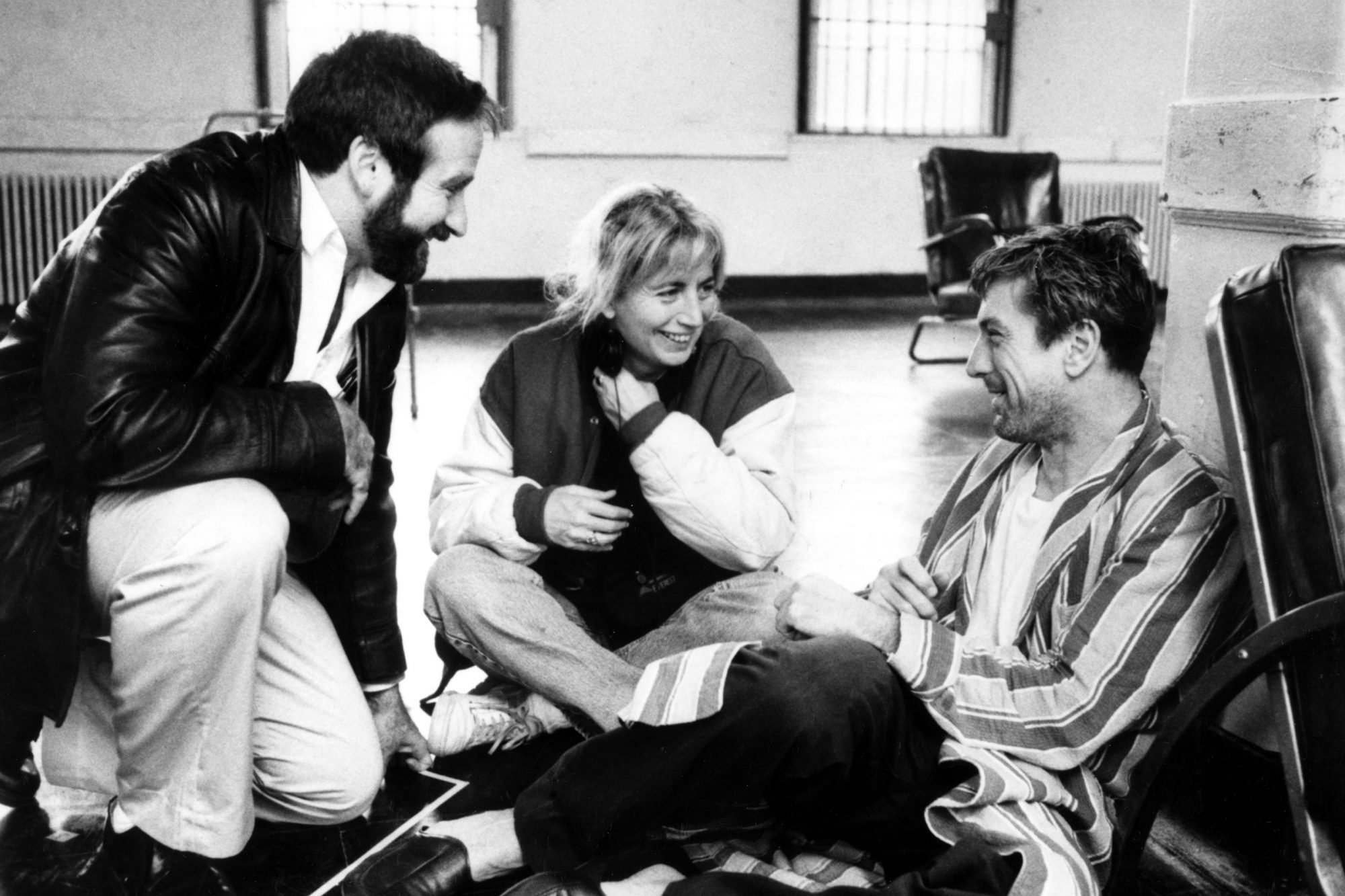AWAKENINGS, Robin Williams, Penny Marshall, Robert De Niro, 1990. (c) Paramount Pictures/ Courtesy: