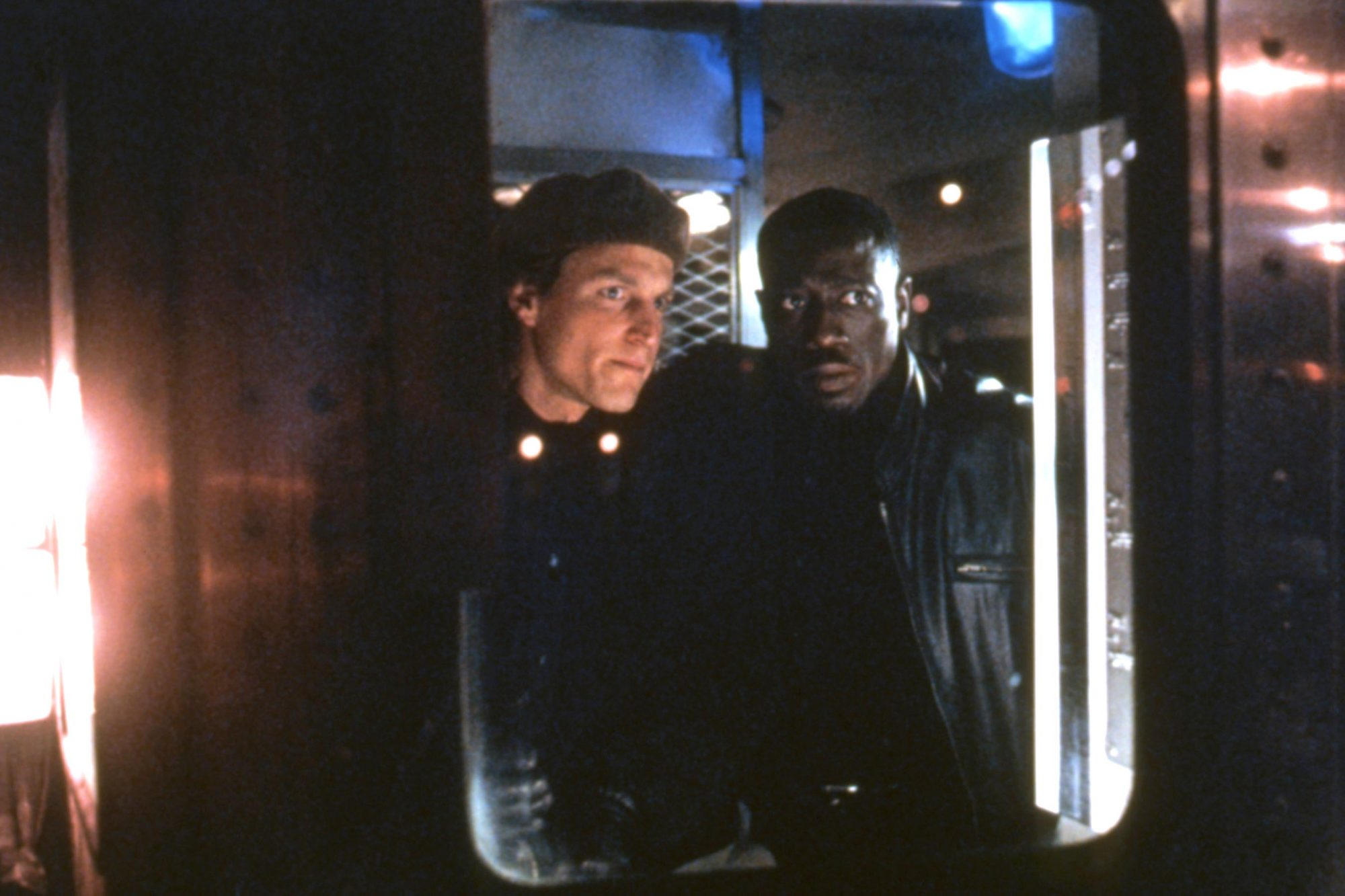 MONEY TRAIN, Woody Harrelson, Wesley Snipes, 1995, (c)Columbia Pictures/courtesy Everett Collection