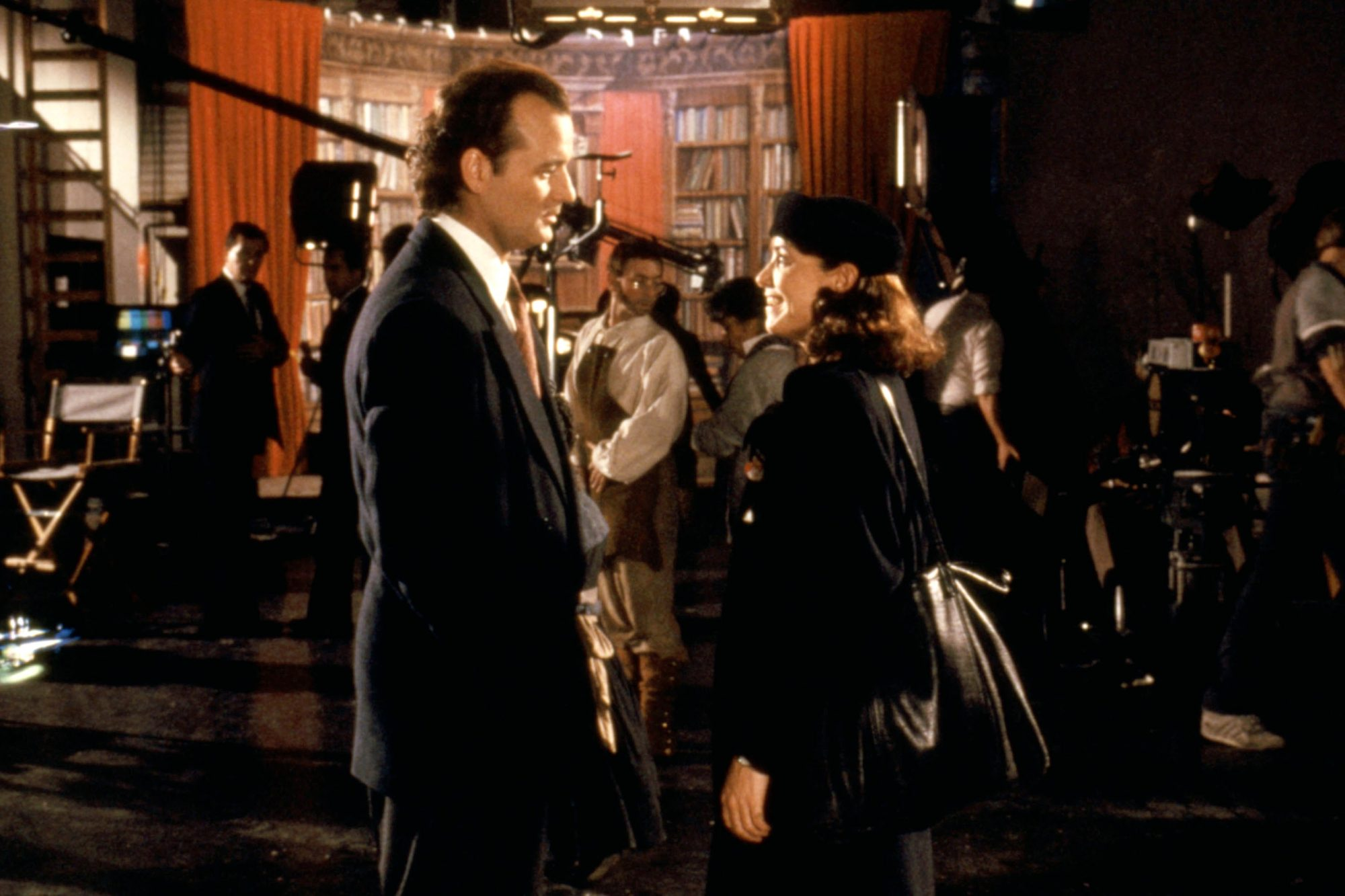 SCROOGED, Bill Murray, Karen Allen, 1988, (c)Paramount/courtesy Everett Collection