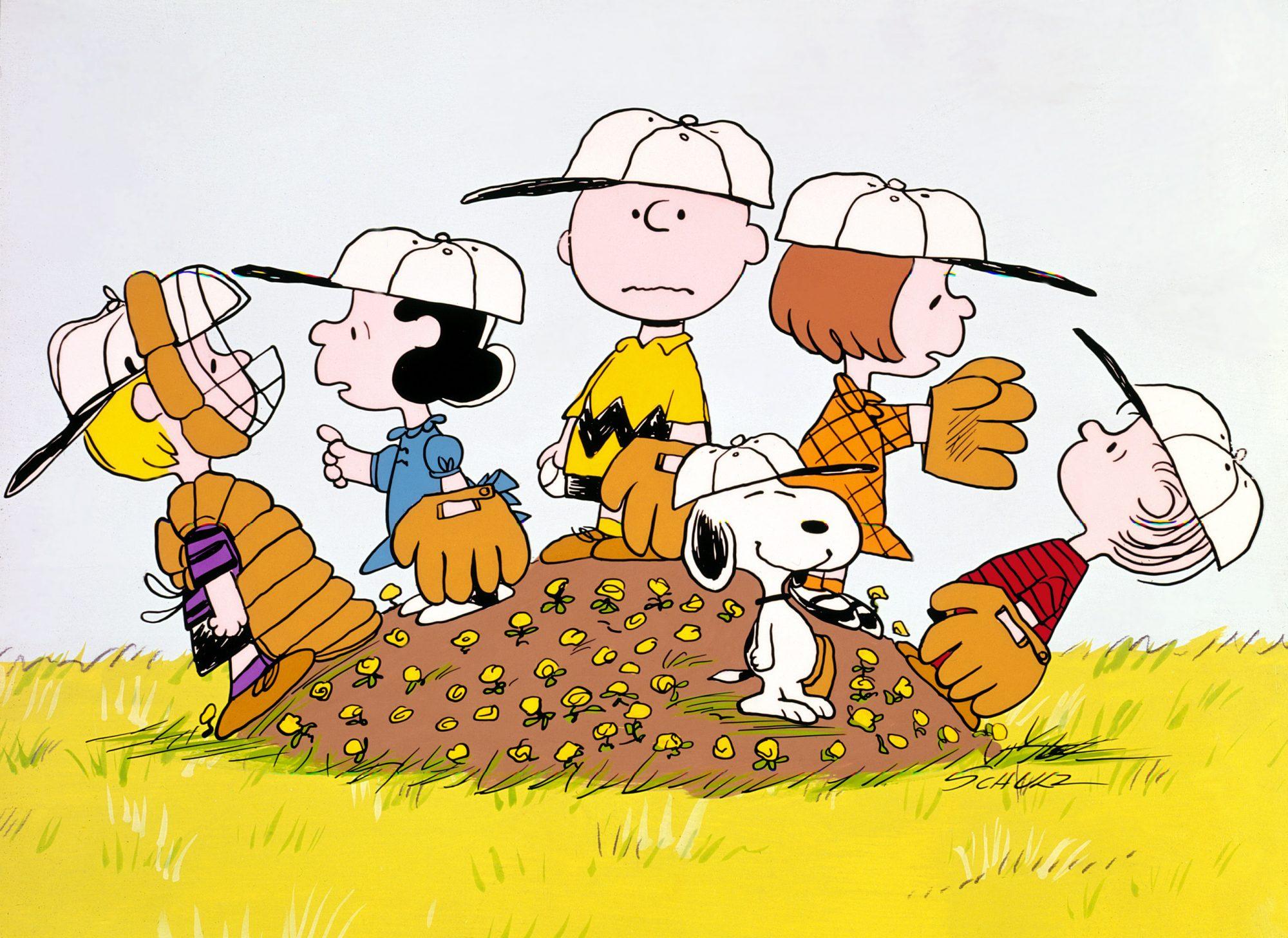BOY NAMED CHARLIE BROWN, Schroeder, Lucy van Pelt, Charlie Brown, Snoopy, Patty, Linus van Pelt, 196