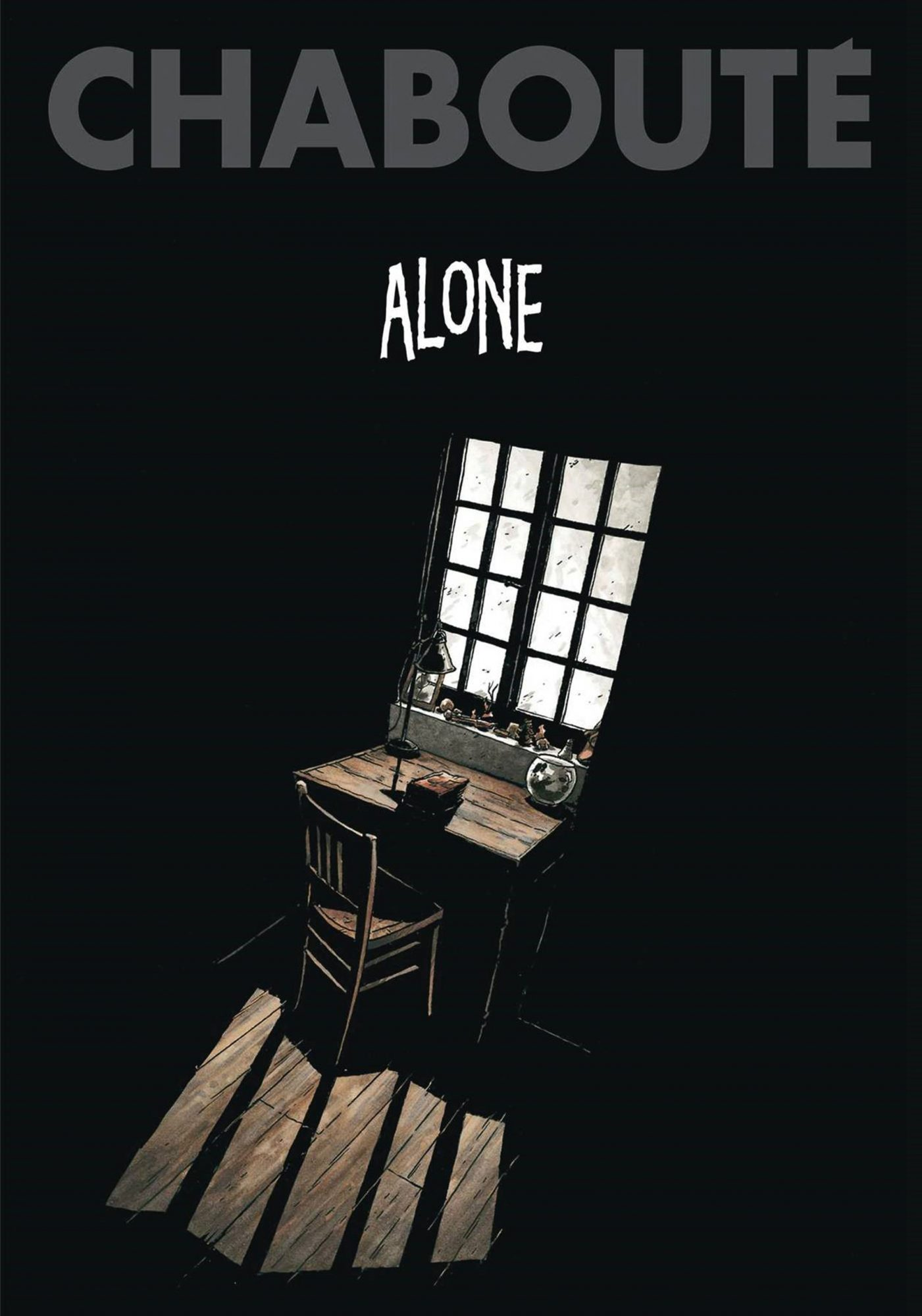 Alone by Christophe ChaboutéCR: Simon & Schuster