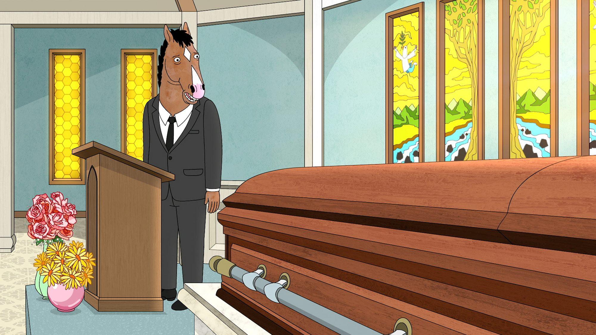 """Free Churro""BoJack Horseman, Netflix"