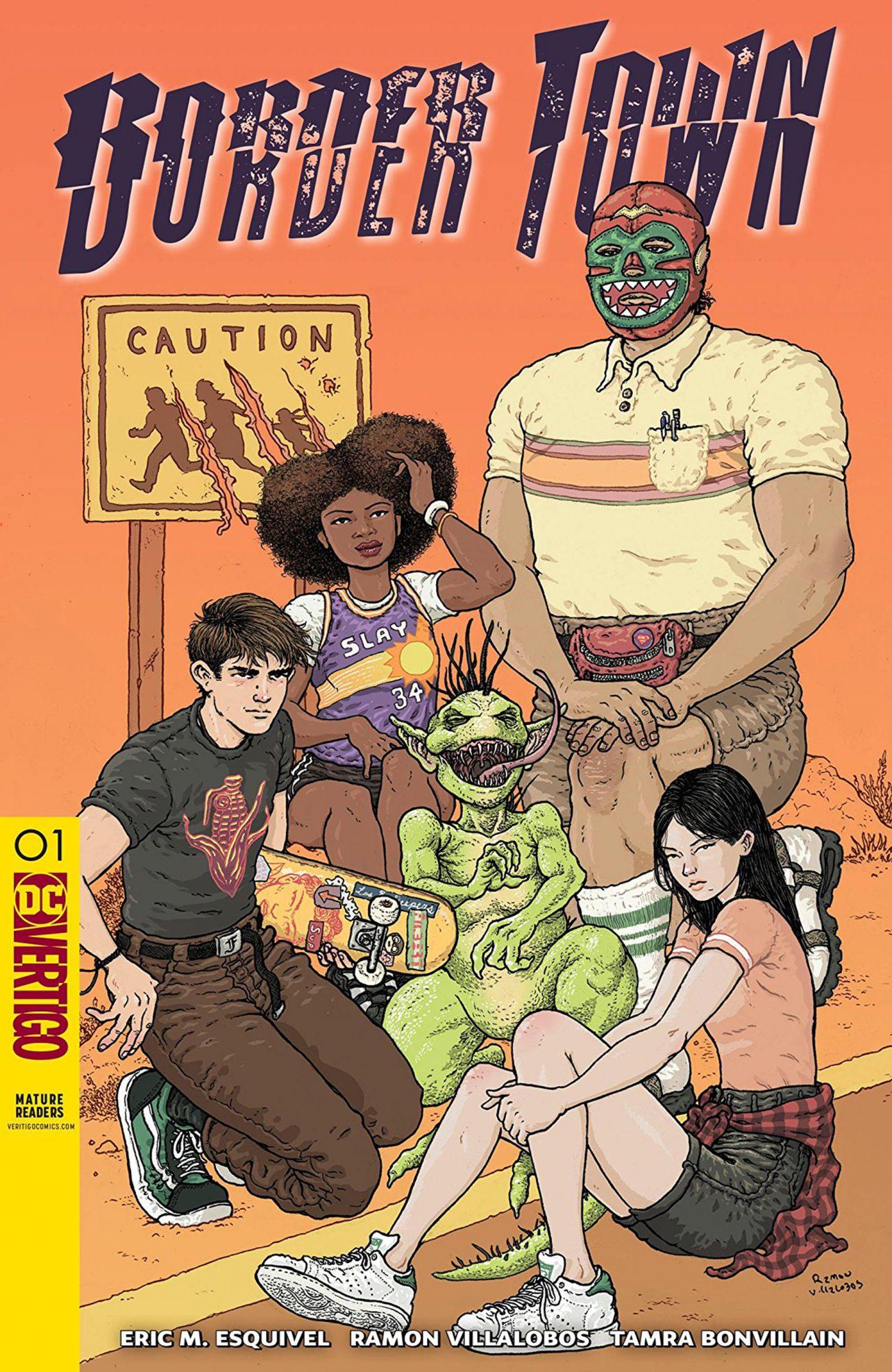 Border Town (2018-) #1Credit: Vertigo Comics