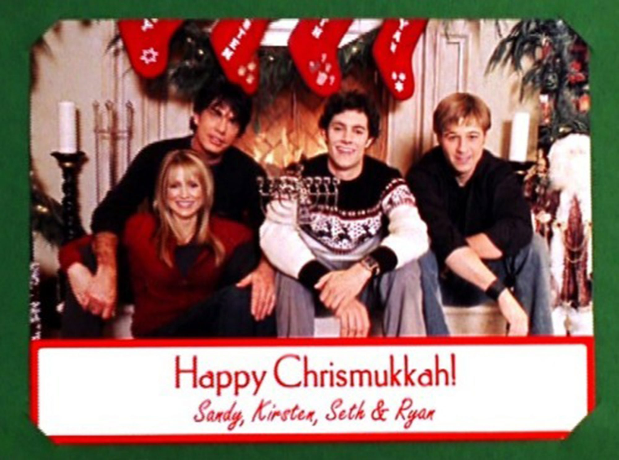 "Chrismukkah on The O.C. -- Pictured: Adam Brody as ""Seth"""