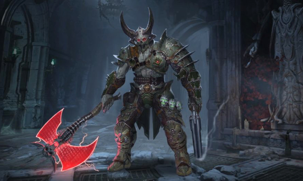 Doom Eternal developed by id Software and published by Bethesda Softworks