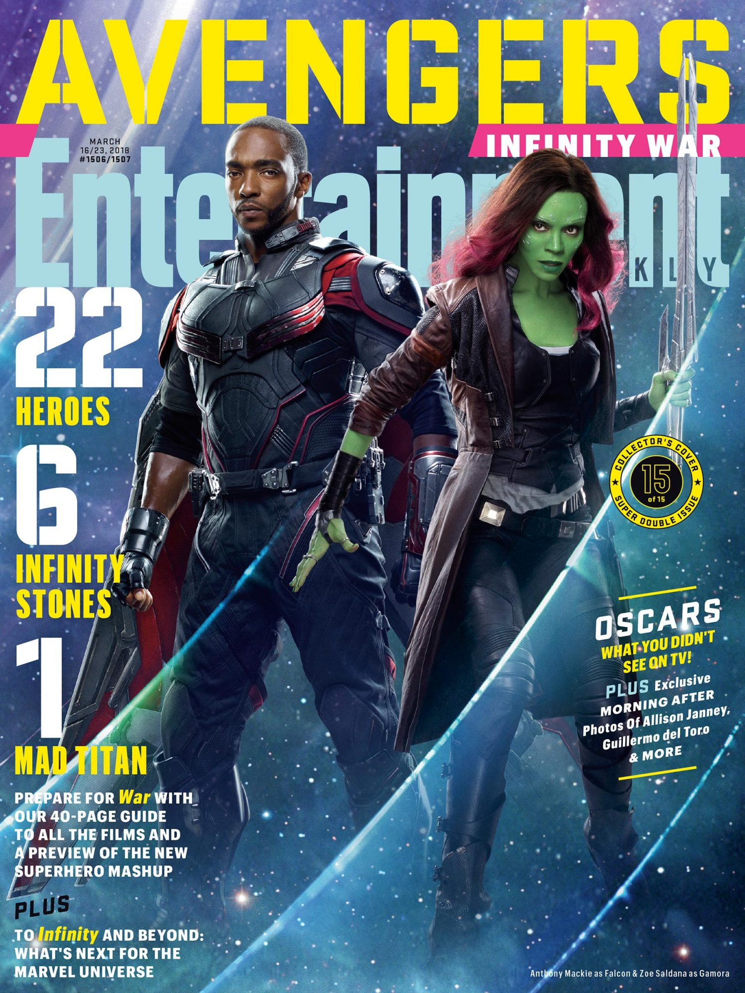 Falcon and Gamora