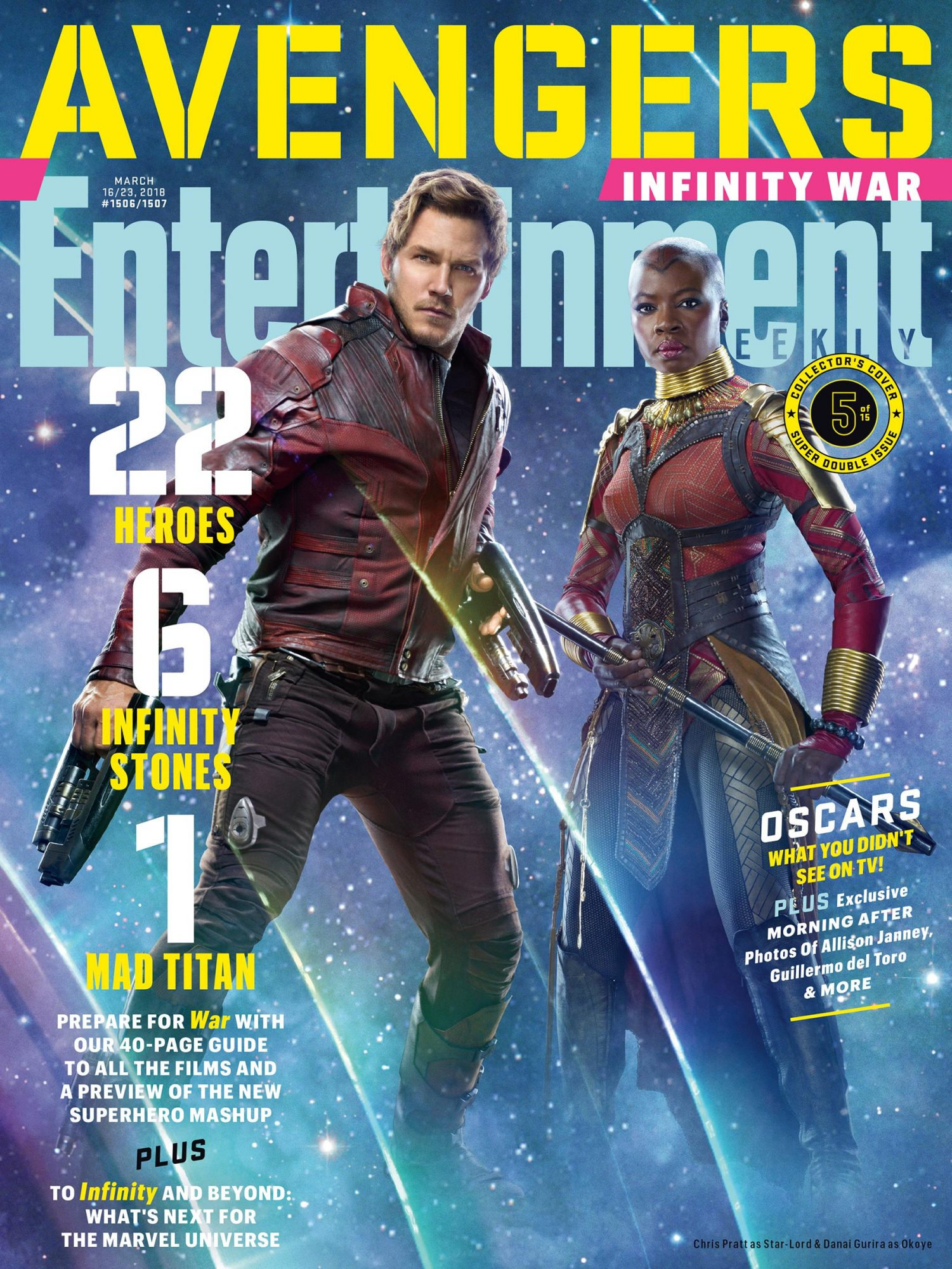 Star-Lord and Okoye