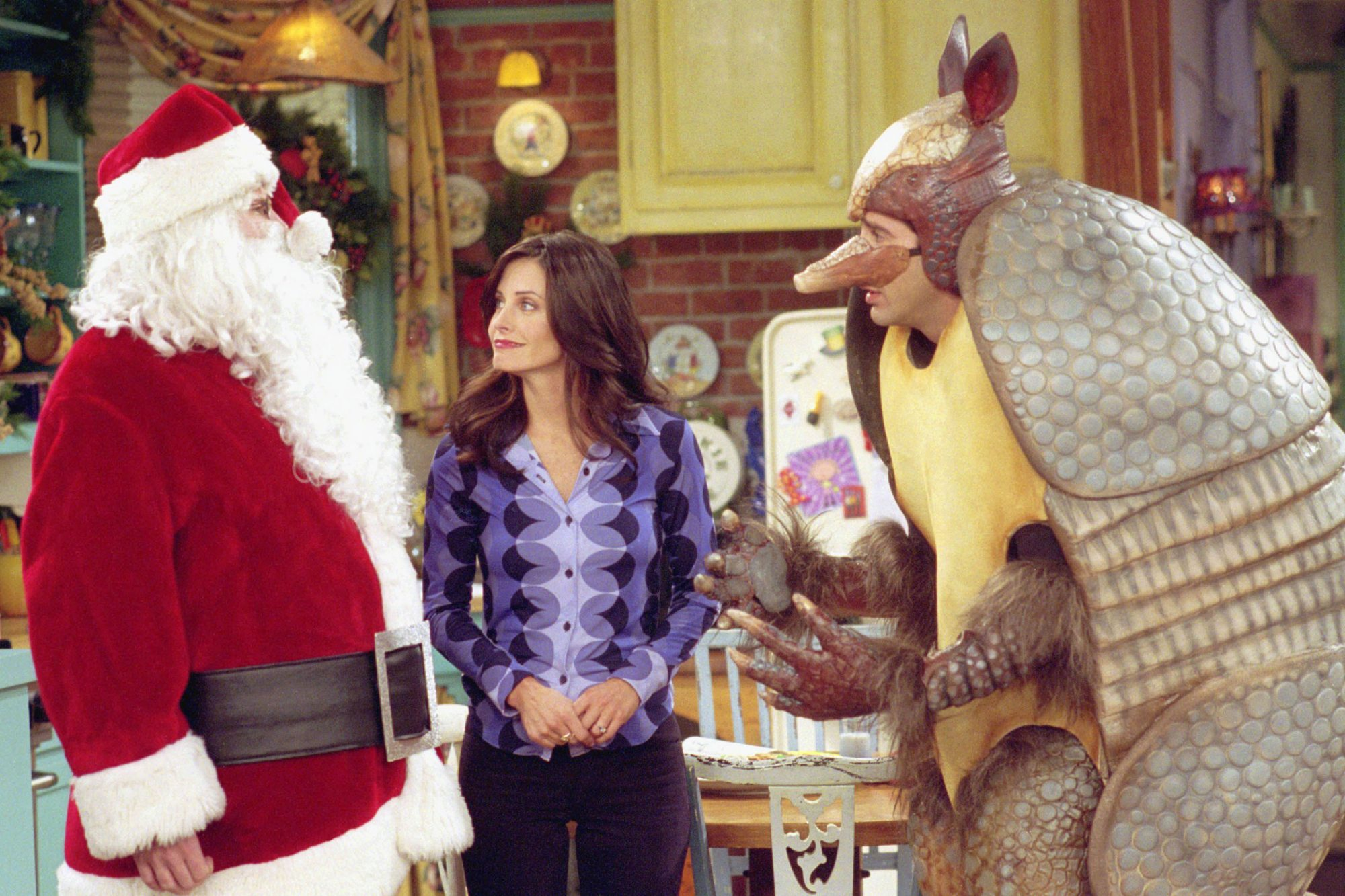 Friends,  The One with the Holiday Armadillo  (season 7, episode 10)